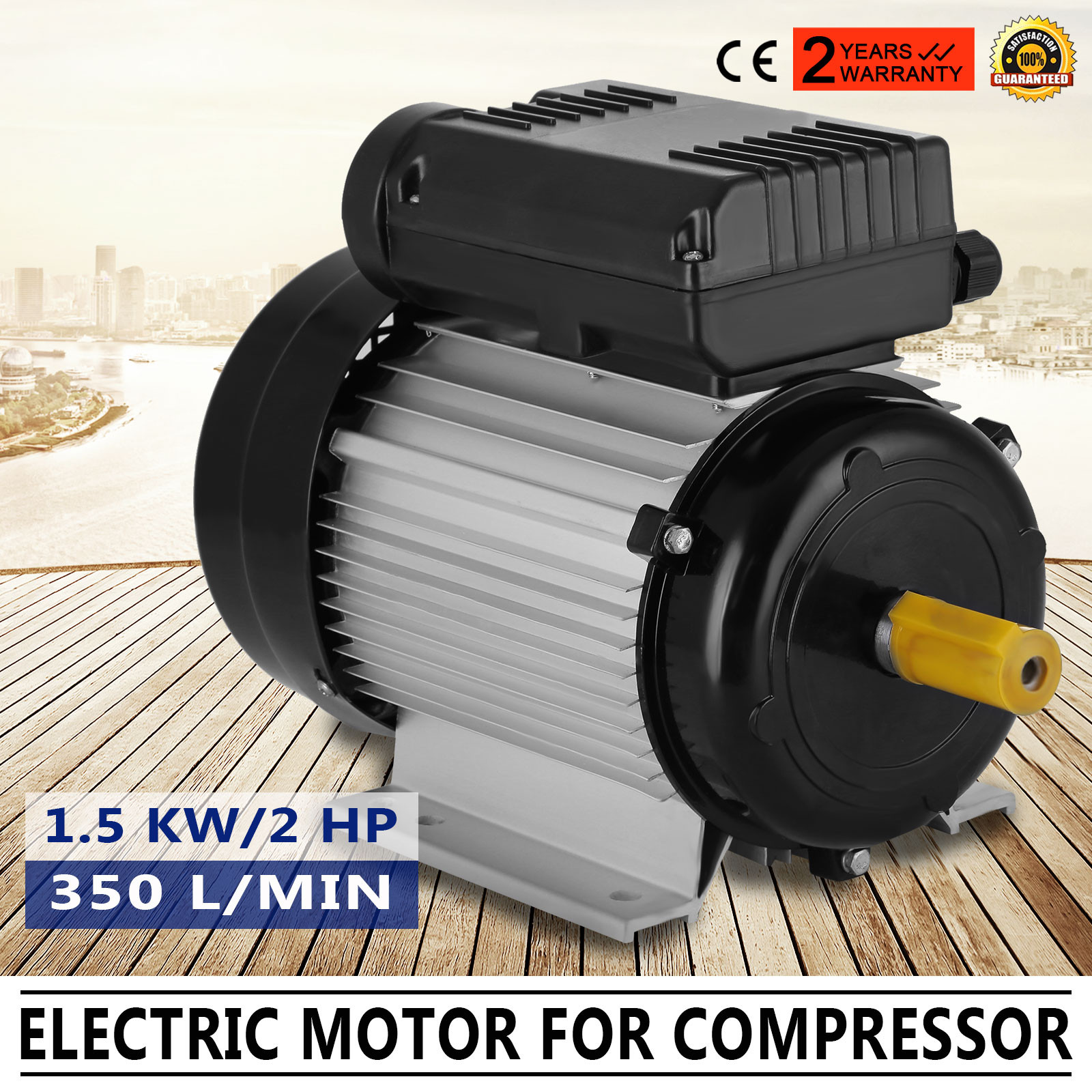90l 1 5kw 2hp shaft 19mm 2800pm 50hz air compressor motor 1 kw electric motor