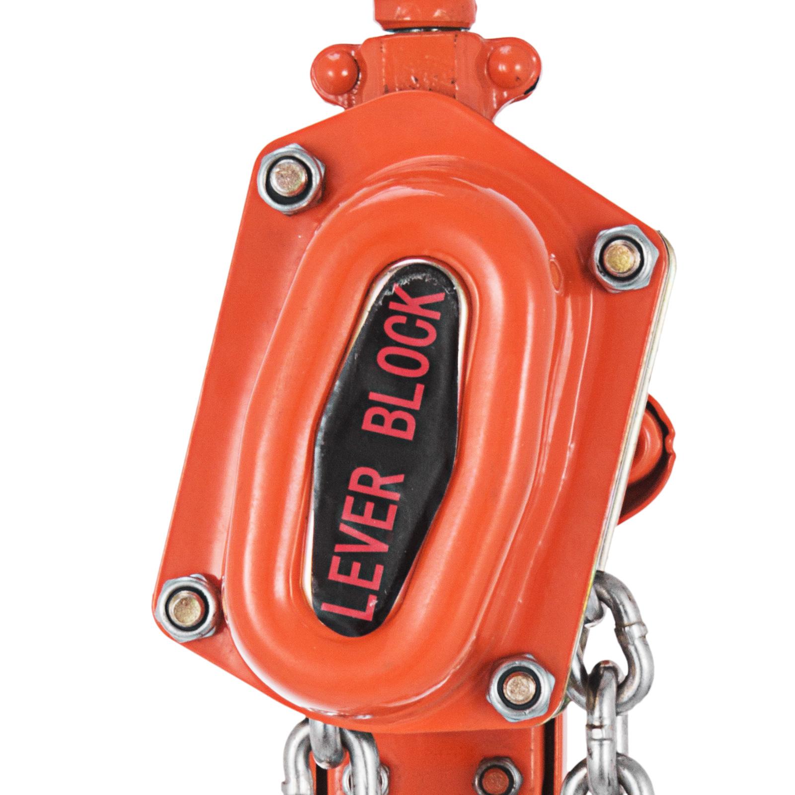 """Chain Hoists 1-1//2 Ton 5/',10/',20/' Ft Lift Chain Dia 5//16/"""" Inch w// Mechani"""