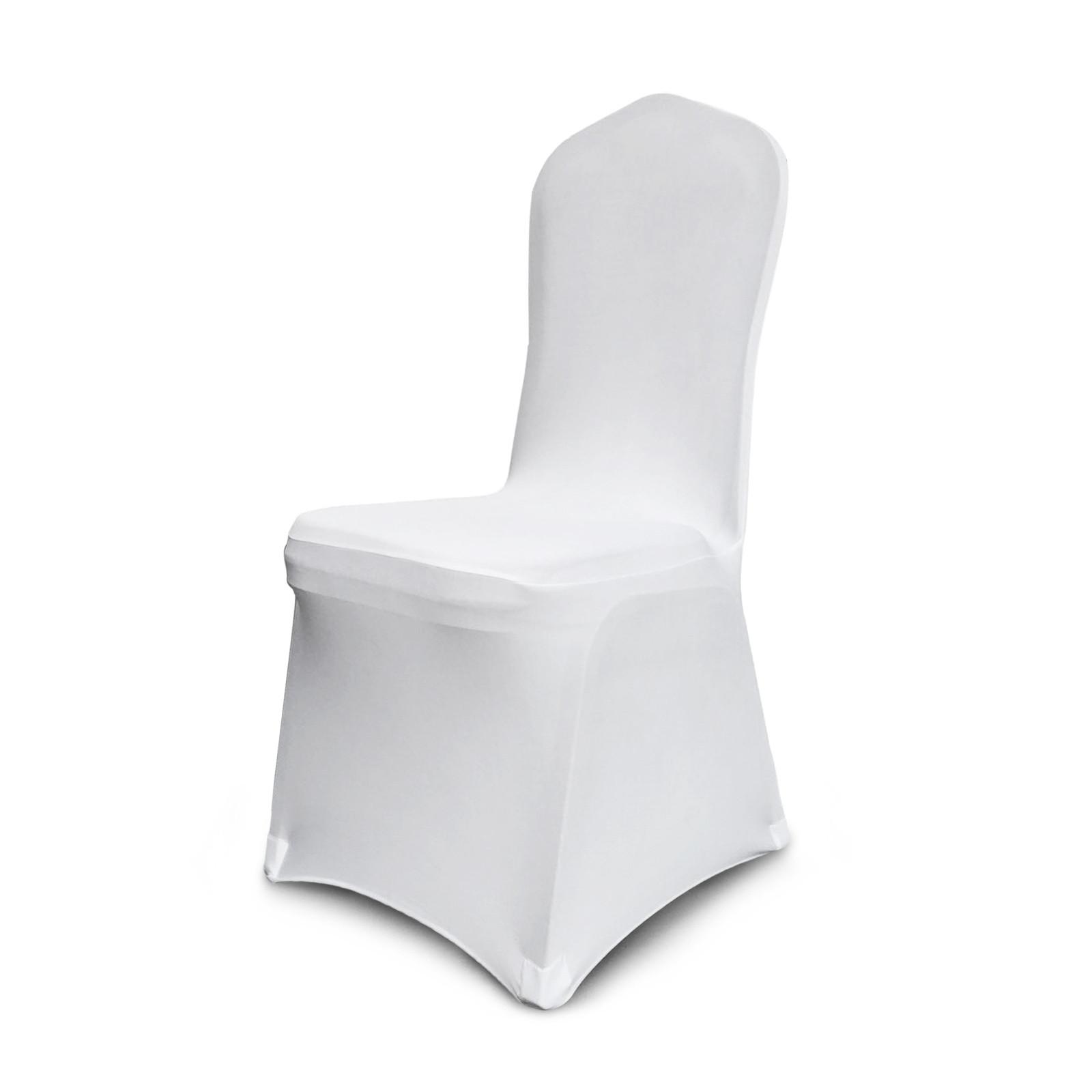 100X Stuhlhussen Stretch Stuhlbezug Stuhlüberzug Reinheit Neu Universal