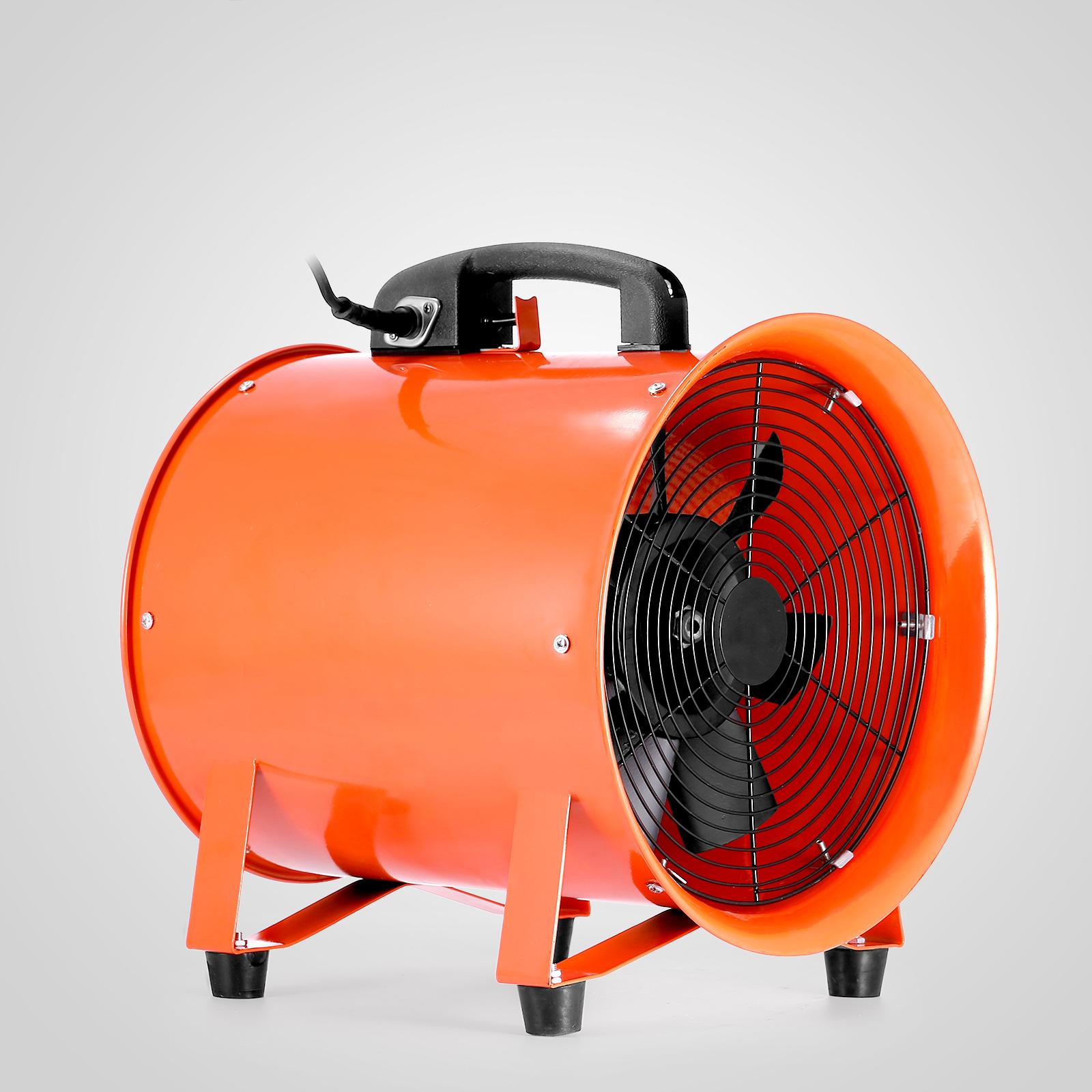 Hydraulic Blower Fans : Portable industrial ventilator axial blower workshop