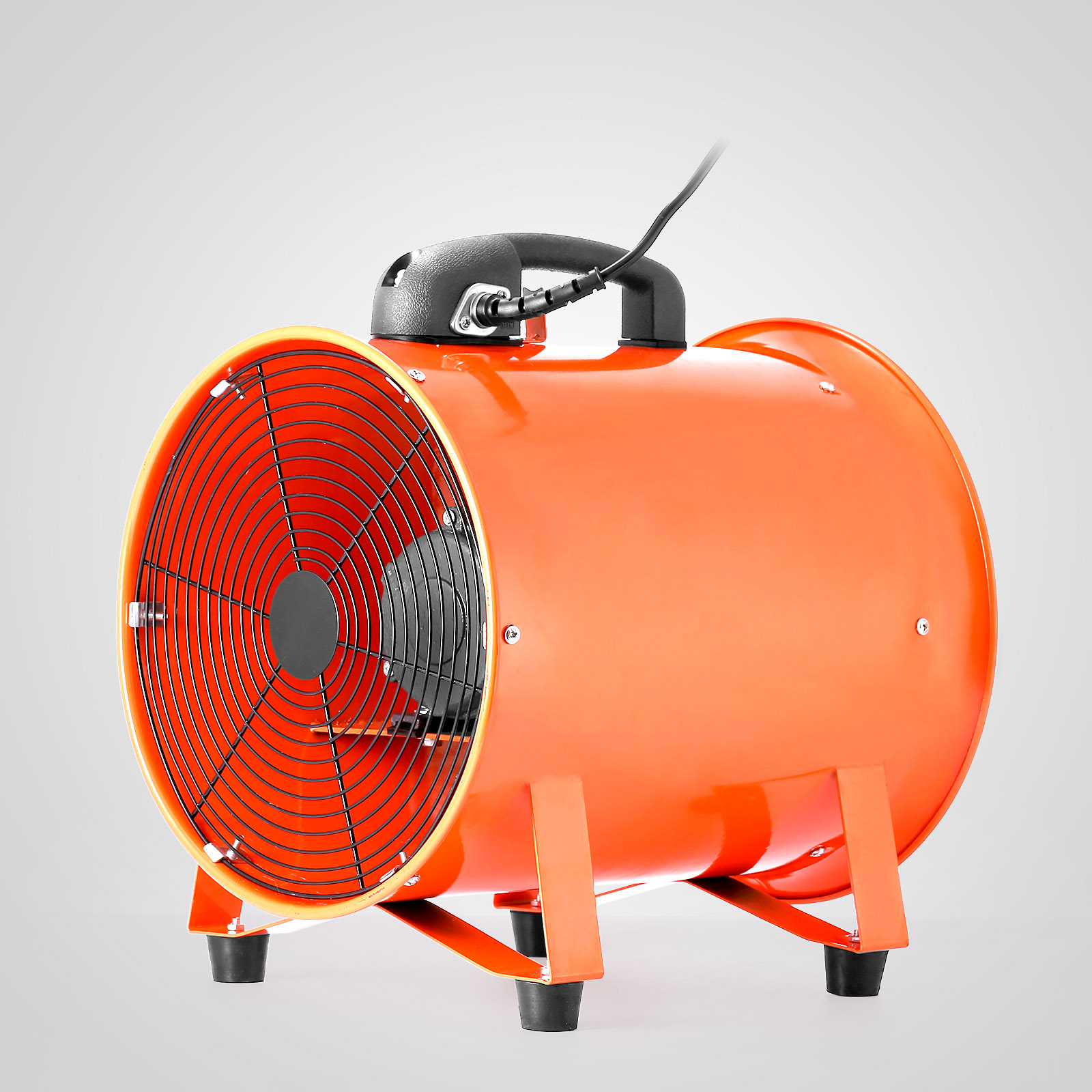 Axial Duct Fans : Portable industrial ventilator axial blower workshop