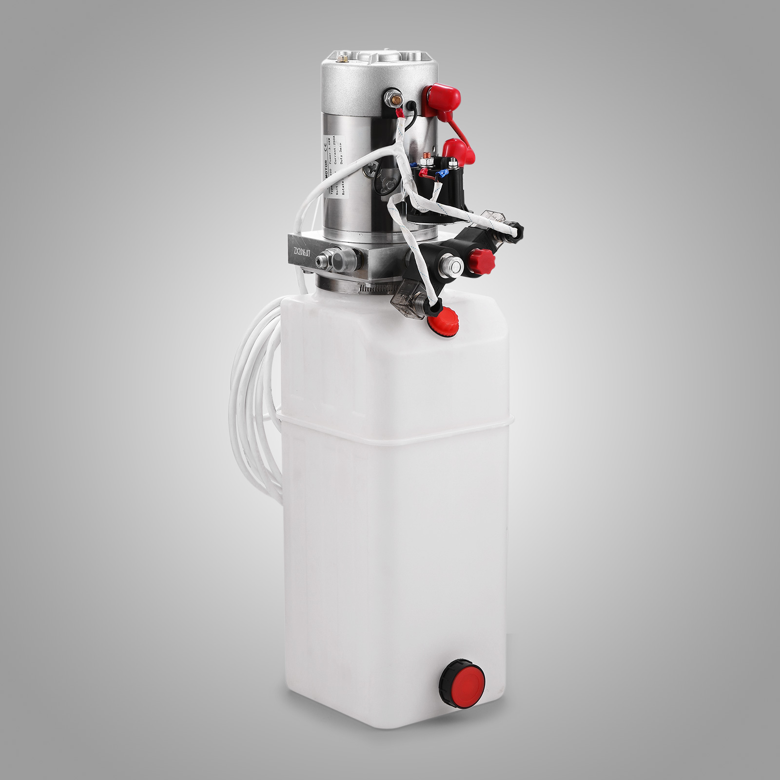 new double acting hydraulic pump 12v dump trailer 10. Black Bedroom Furniture Sets. Home Design Ideas