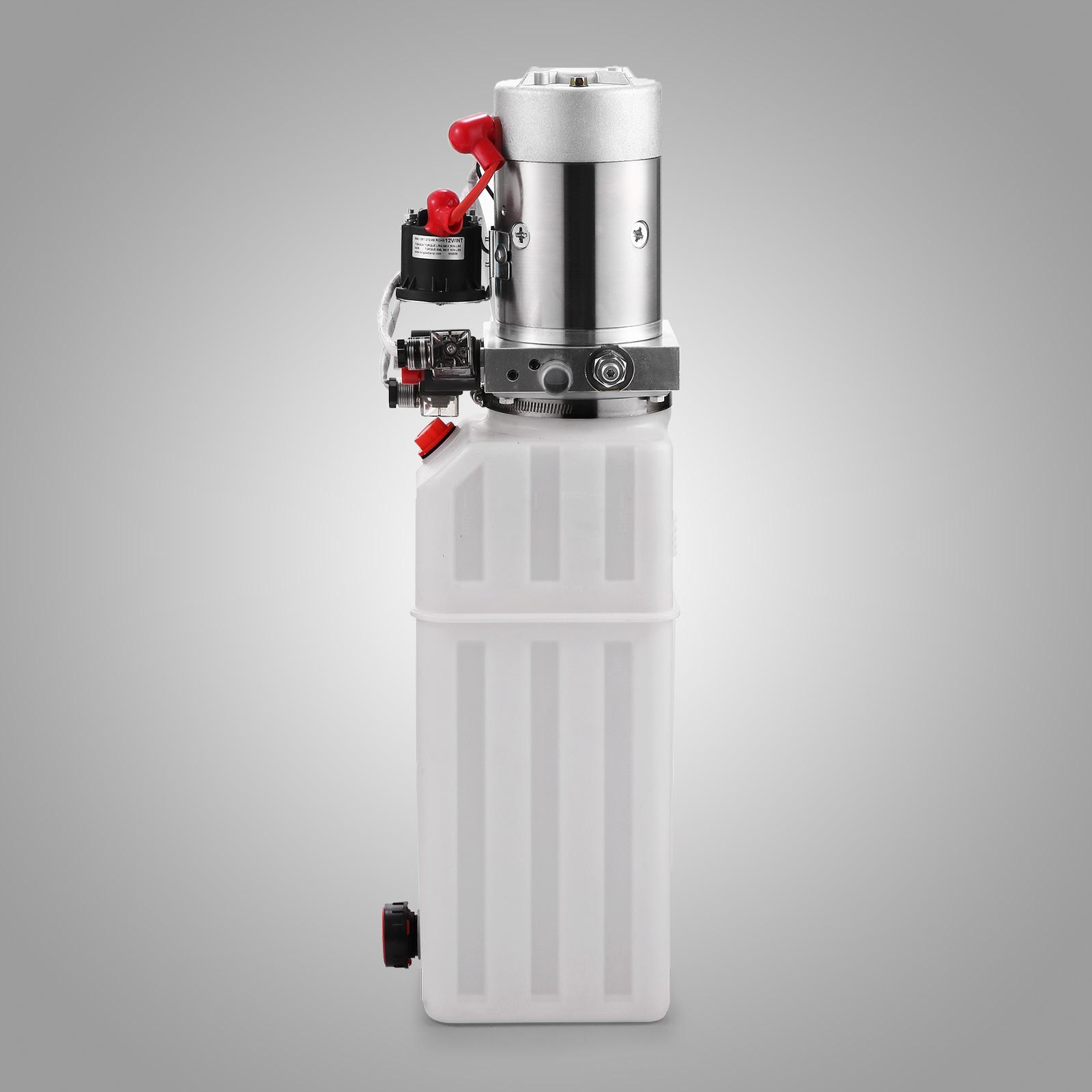 hydraulikaggregat hydraulik pumpe funk 12v 10l lkw kipper anh nger ebay. Black Bedroom Furniture Sets. Home Design Ideas