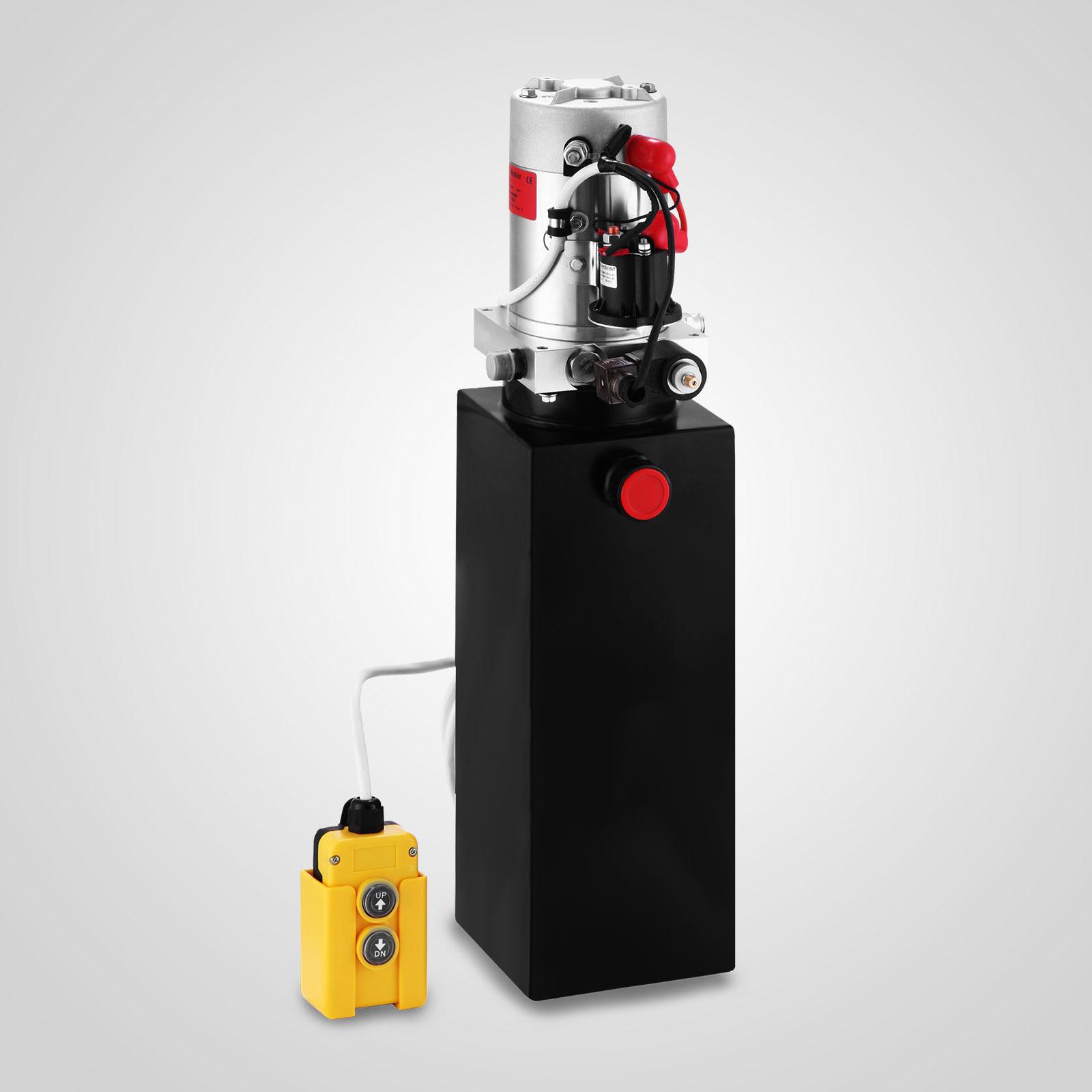 Hyundai Panama City Fl: 12 Volt Hydraulic Pump Single Acting 10qt Steel Dump
