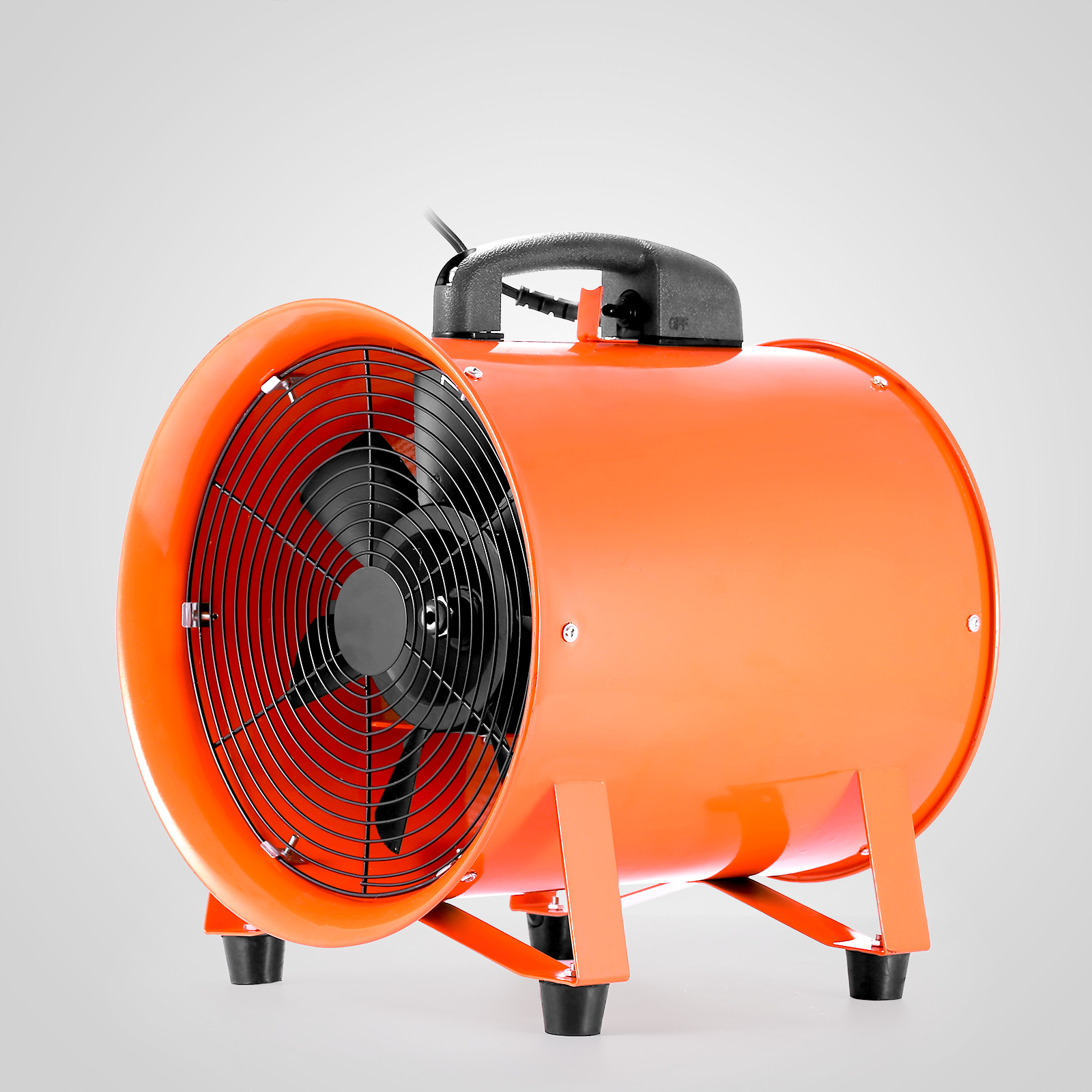 """12/"""" Industrial Extractor Fan Blower W// Duct Hose Pivoting Chemical Ventilation"""