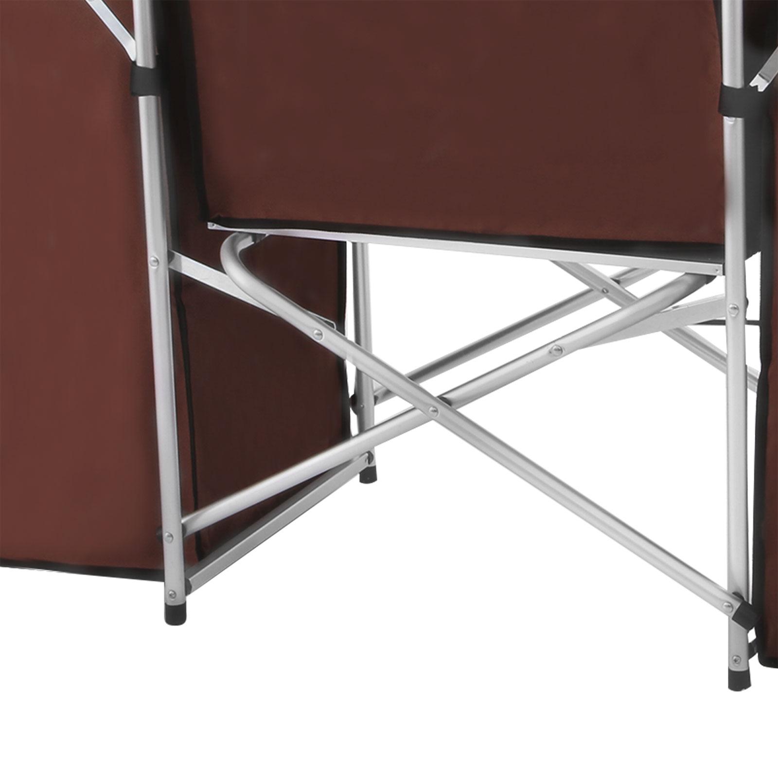 Pliable-Cuisine-de-Camping-Meuble-de-Rangement-Portable-Exterieur-Cuisine miniature 11