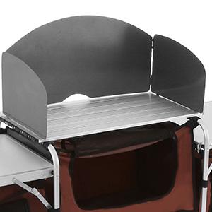 Pliable-Cuisine-de-Camping-Meuble-de-Rangement-Portable-Exterieur-Cuisine miniature 5