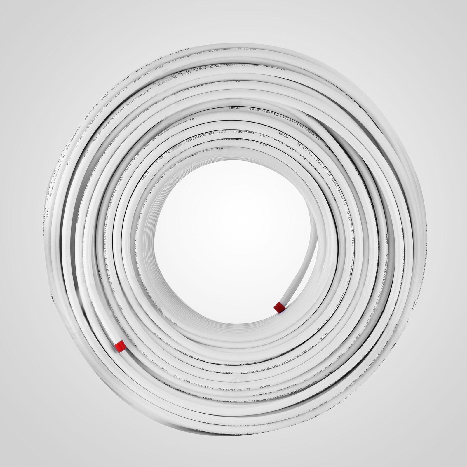 Alu Mehrschichtverbundrohr Verbundrohr 200m Rolle 100~300ft  DIN-DVGW Pex Rohr