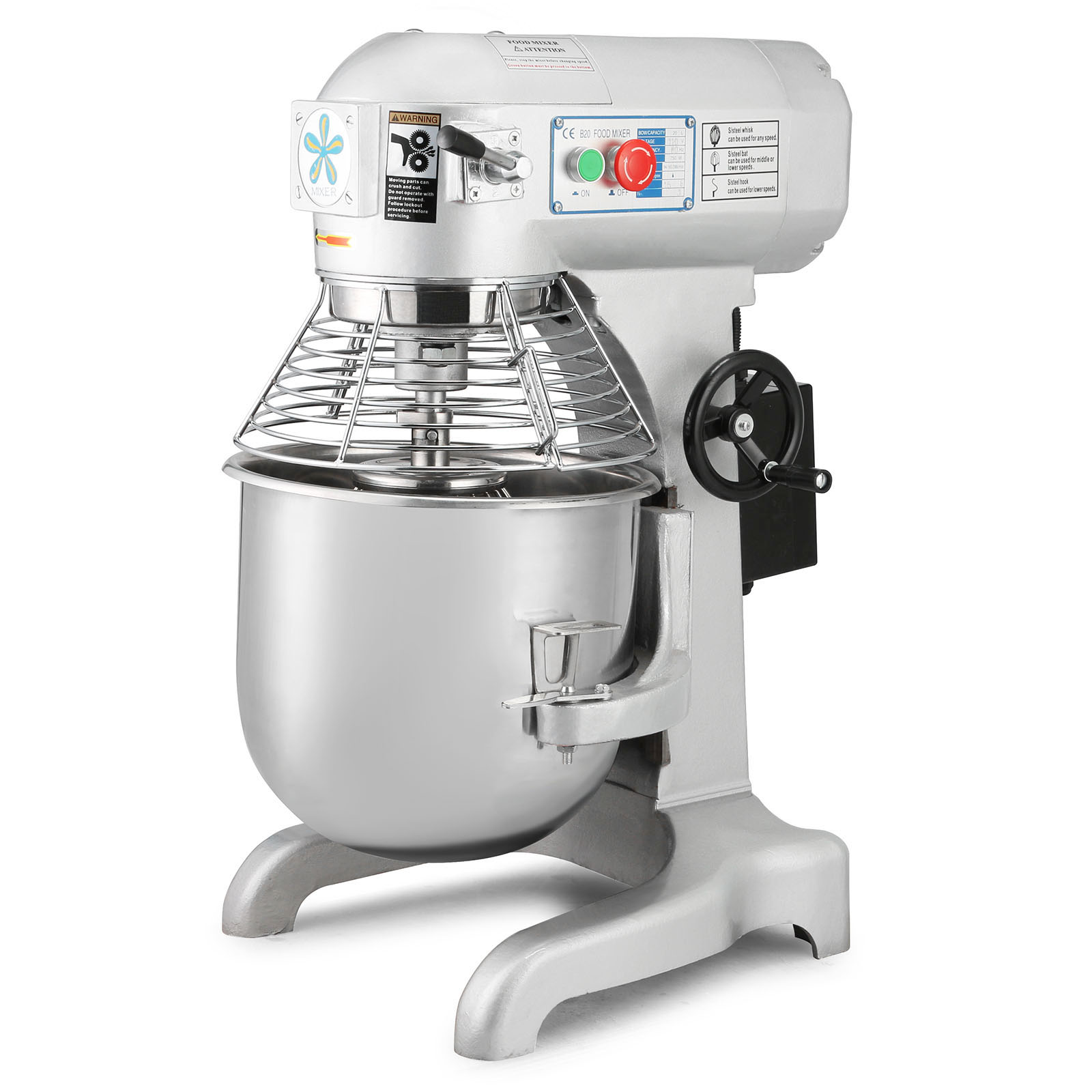 food dough stand mixer mixing tool stainless steel bowl 10l 20l 30l usa stock ebay. Black Bedroom Furniture Sets. Home Design Ideas