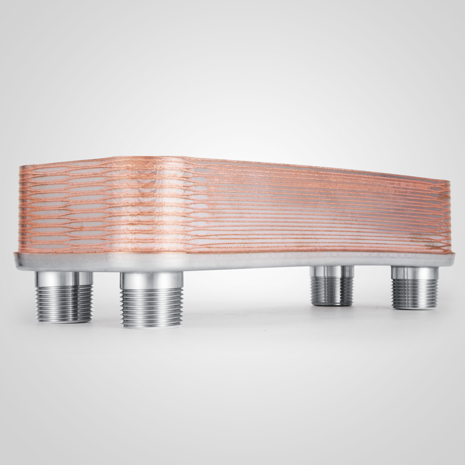 Radiant 316L Stainless Steel Brazed Plate Heat Exchanger-PURE copper Boilers
