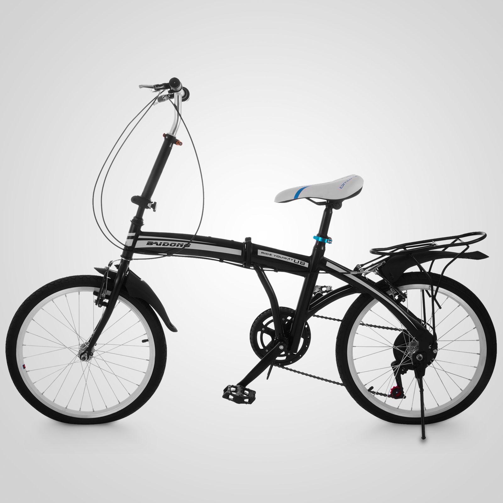 20 mini folding bike 6 speed foldable bicycle storage shimano adult ride cycle ebay. Black Bedroom Furniture Sets. Home Design Ideas