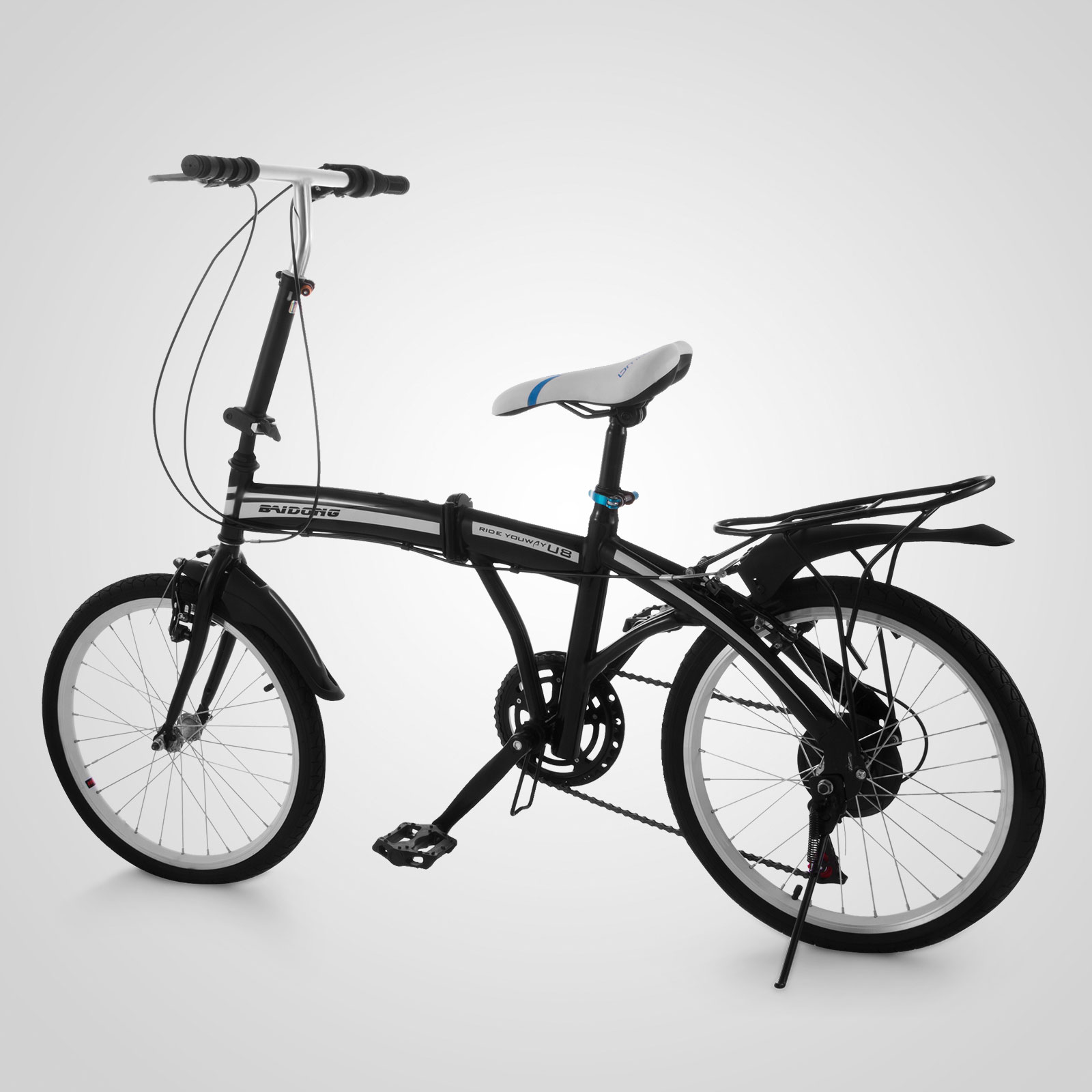 20 mini folding bike 6 speed foldable bicycle storage. Black Bedroom Furniture Sets. Home Design Ideas