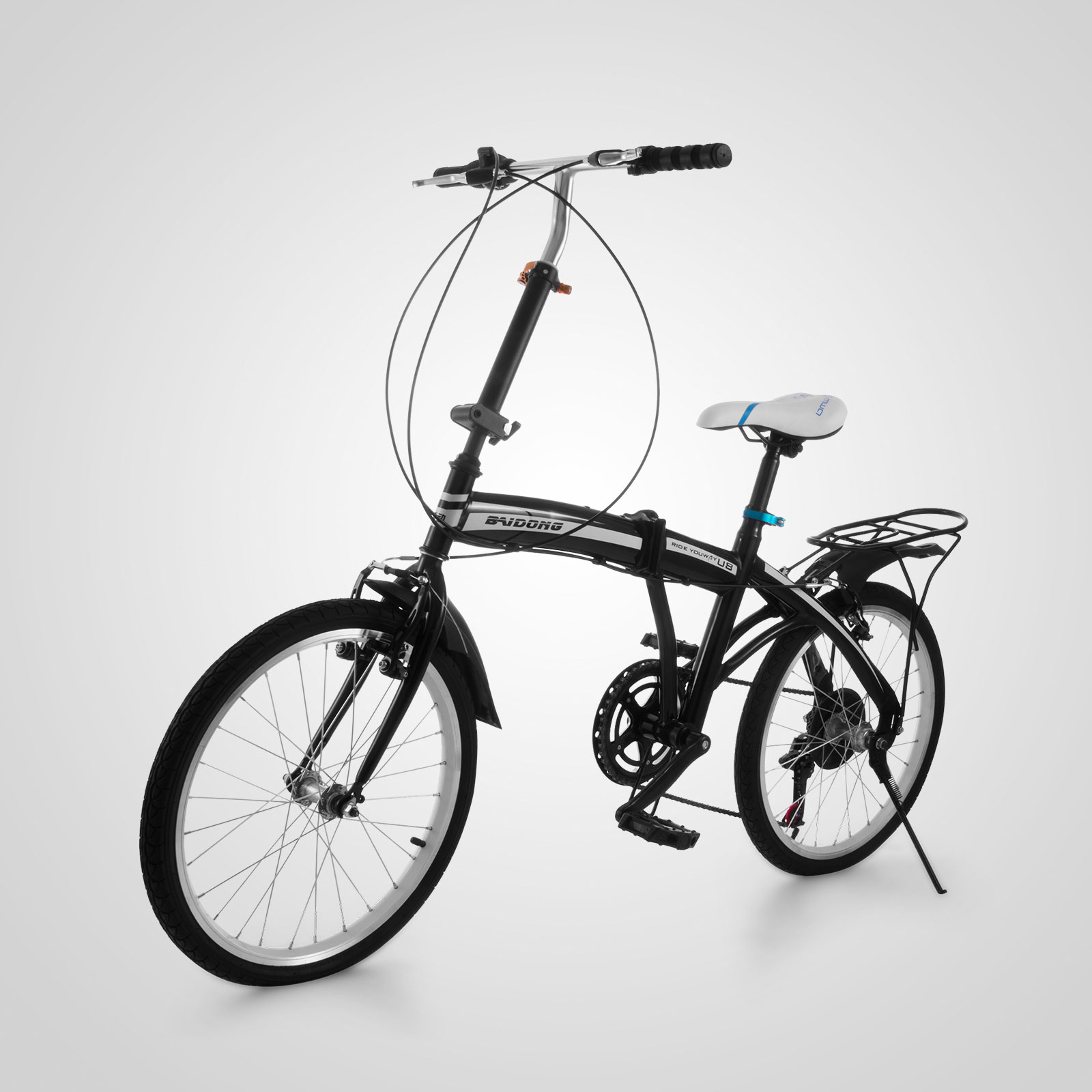 20 mini folding bike 6 speed foldable bicycle shimano. Black Bedroom Furniture Sets. Home Design Ideas