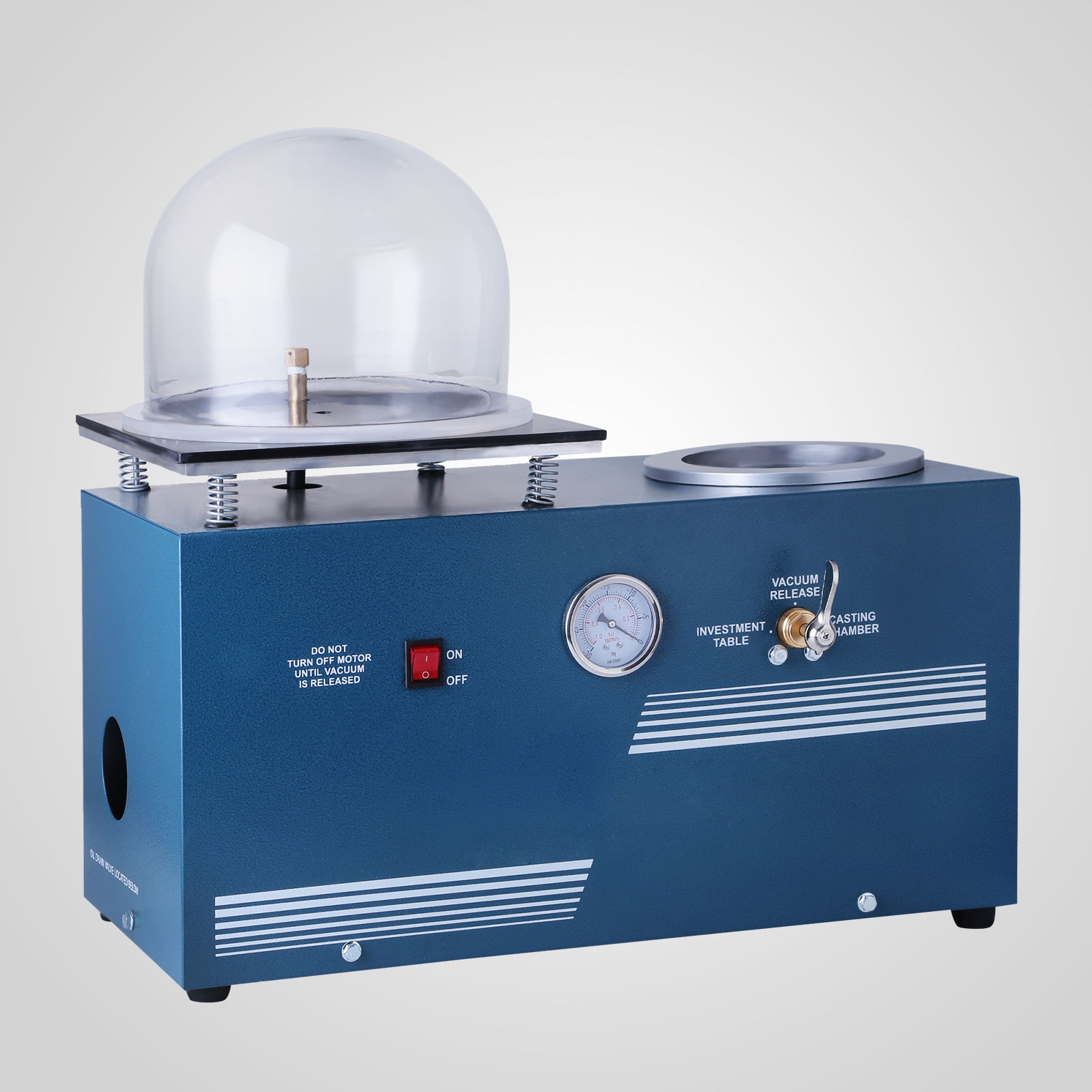 Jewelry Lost Wax Cast Vacuum Investing Casting Machine