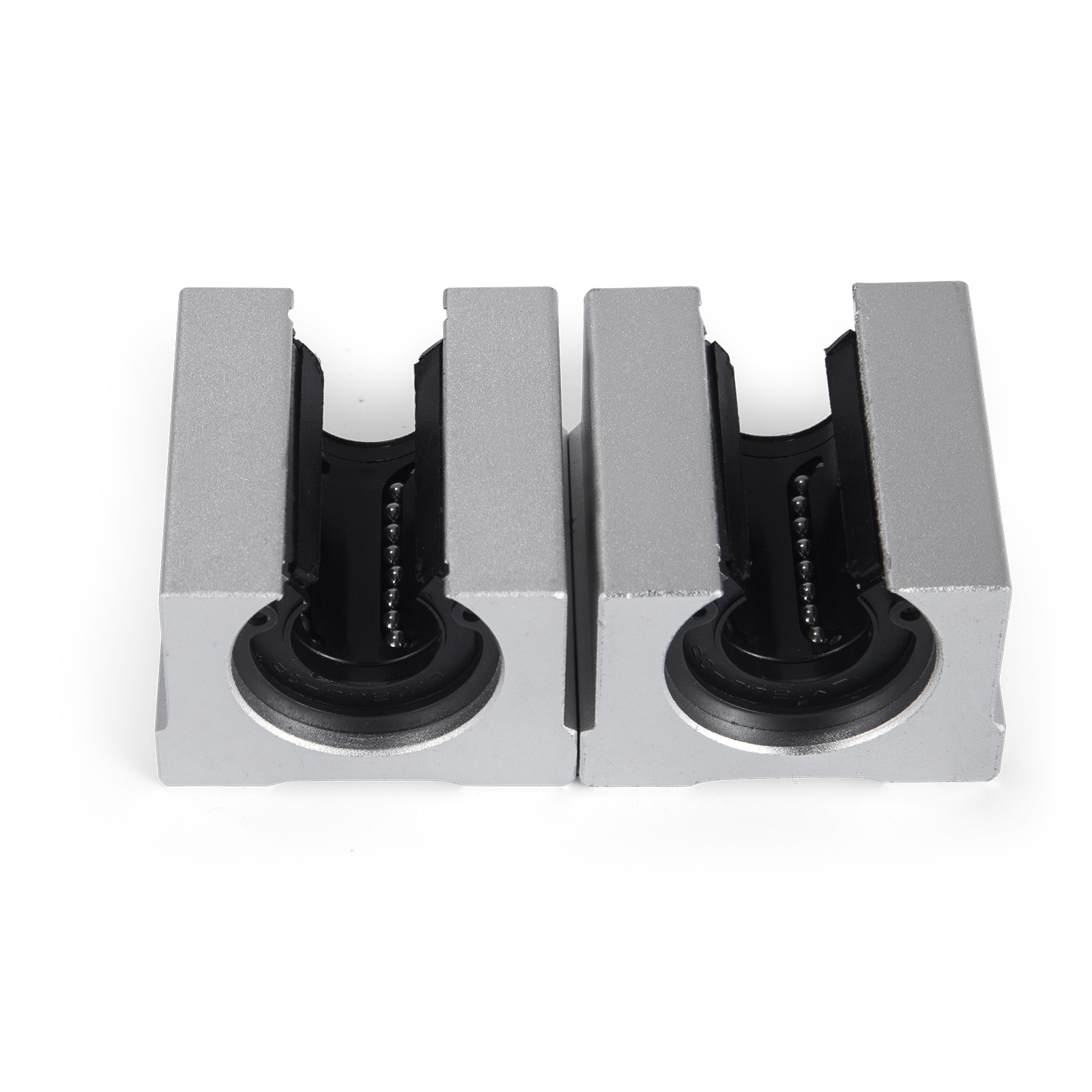 2X SBR16 Fully Supported Linear Rail 4X SBR16UU 16mm Slide Block Bearing