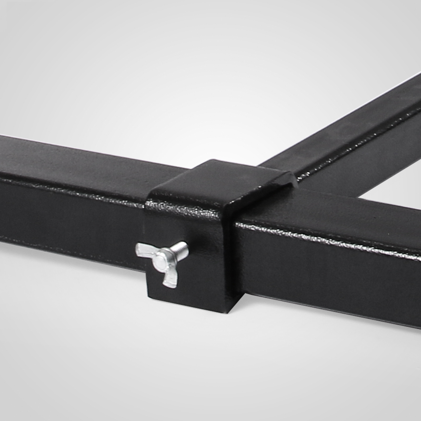 Tractor Bucket Fork Stabilizer Bar : Hd lbs clamp on pallet forks loader bucket