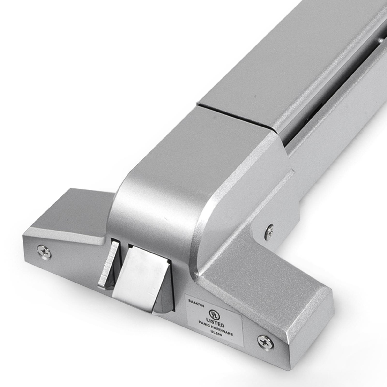Door Push Bar Panic Bar Exit Device Lock Handle//Alarm Safety Metal Anti-theft