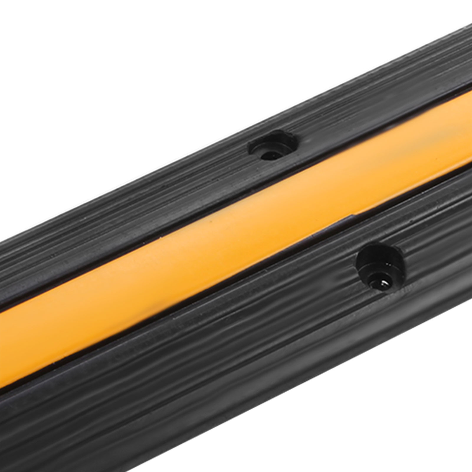 1-2-amp-5-Channel-Speed-Bump-Cable-Protector-Ramp-Guard-Cover-Rubber-Heavy-Duty