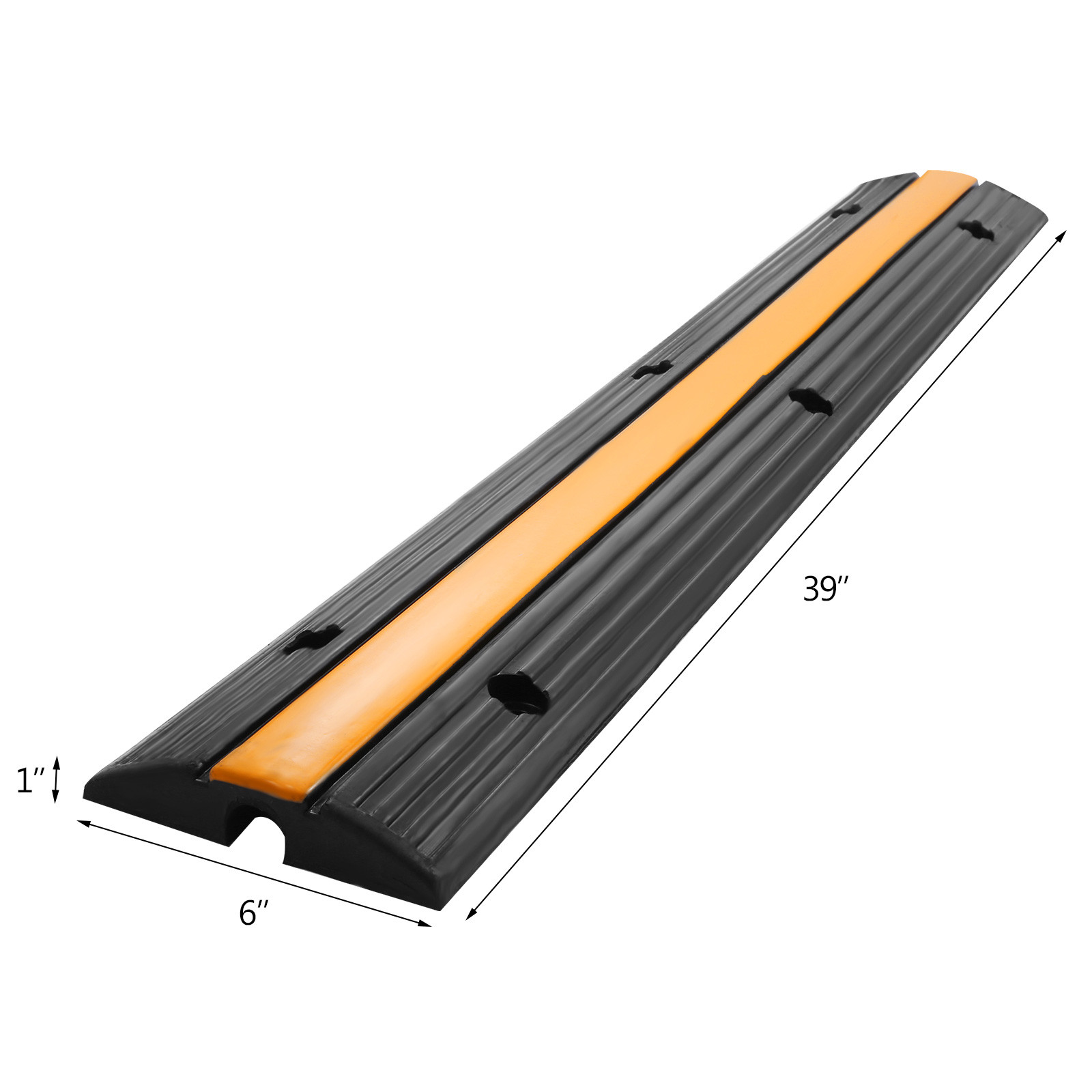 CABLE CORD PROTECTOR ELECTRICAL WIRE COVER RAMP FLOOR VEHICLE SNAKE ...