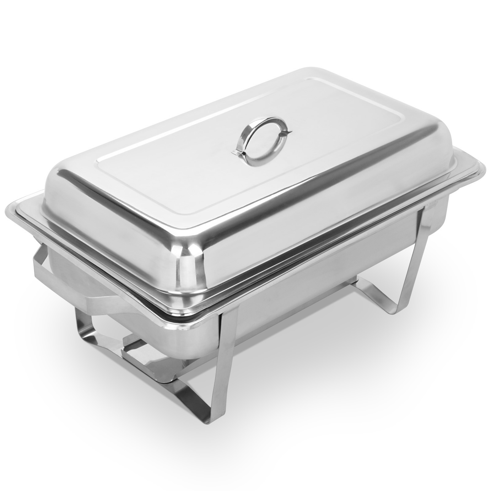 4 pack chafing dish sets buffet catering 9 quart food warmer with tray food pans ebay. Black Bedroom Furniture Sets. Home Design Ideas