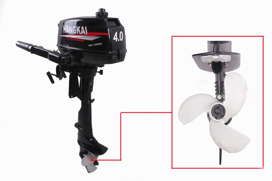 New 4hp outboard motor boat engine updated with 2 stroke for New outboard boat motors