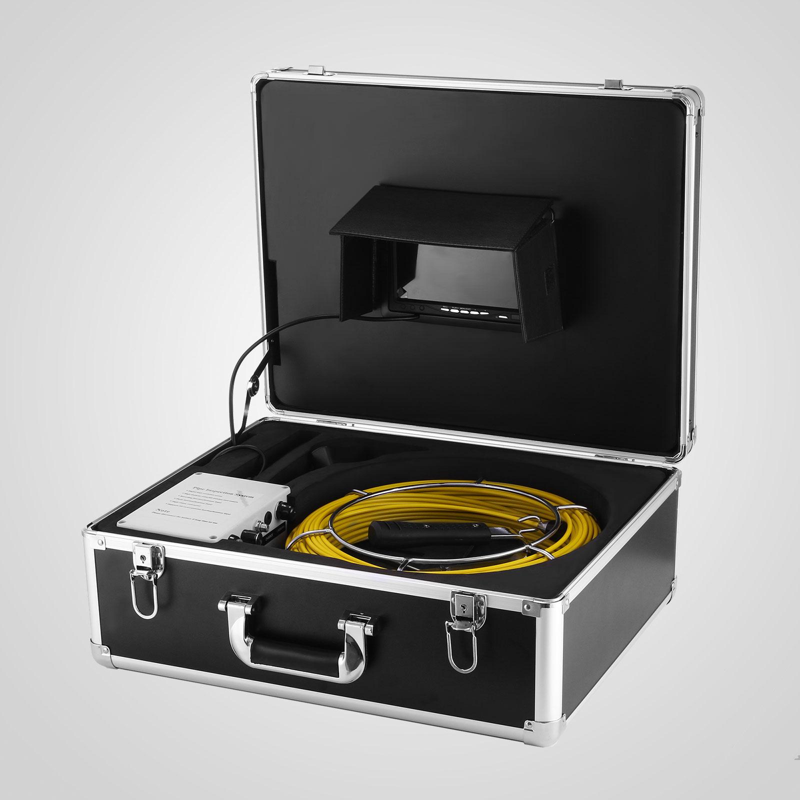 kabel rohrkamera inspektionskamera mit 50m rekorder ce pipe stable newest. Black Bedroom Furniture Sets. Home Design Ideas