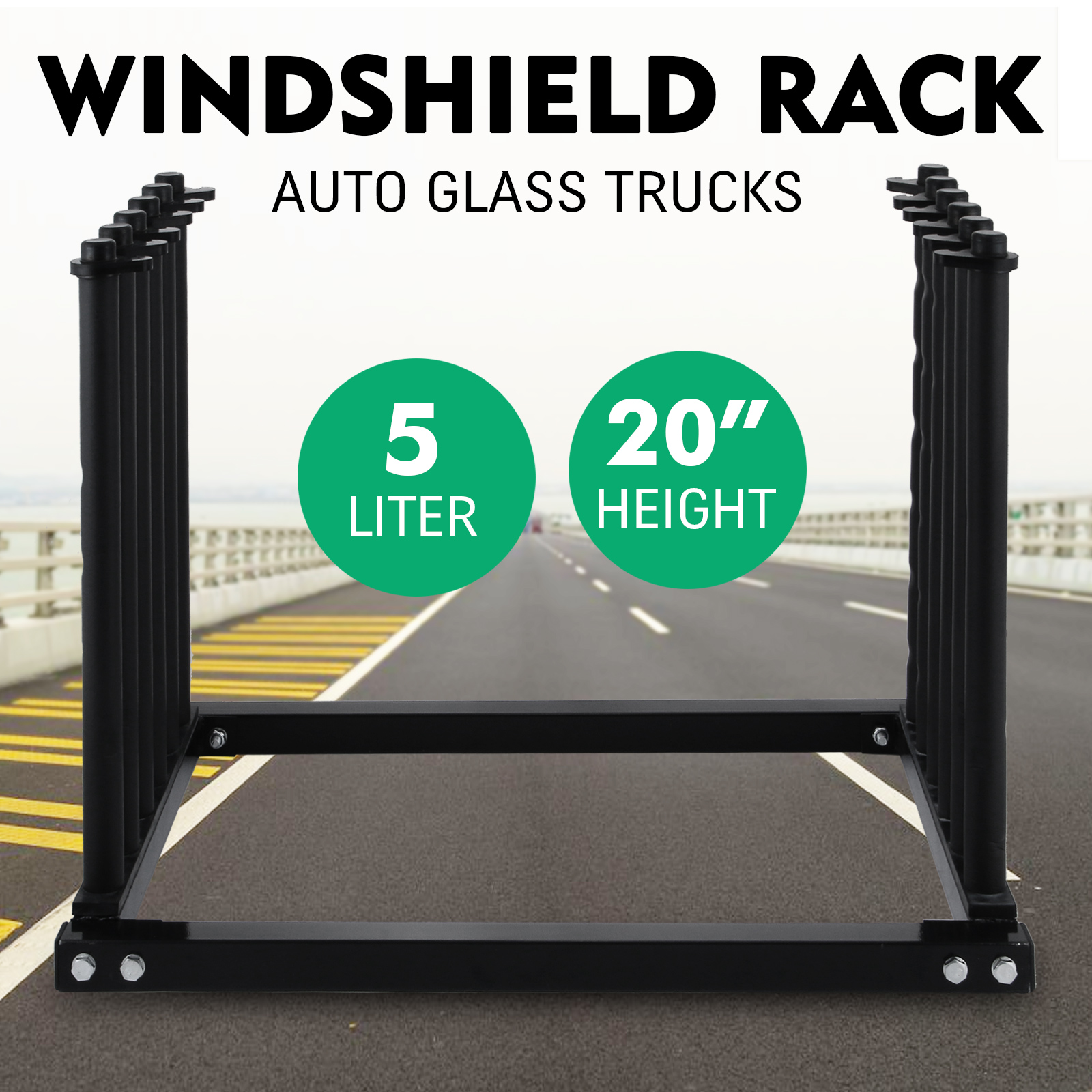 5 Lite Windshield Rack For Auto Glass And Trucks, In Box, Top Quality - vevor - ebay.co.uk