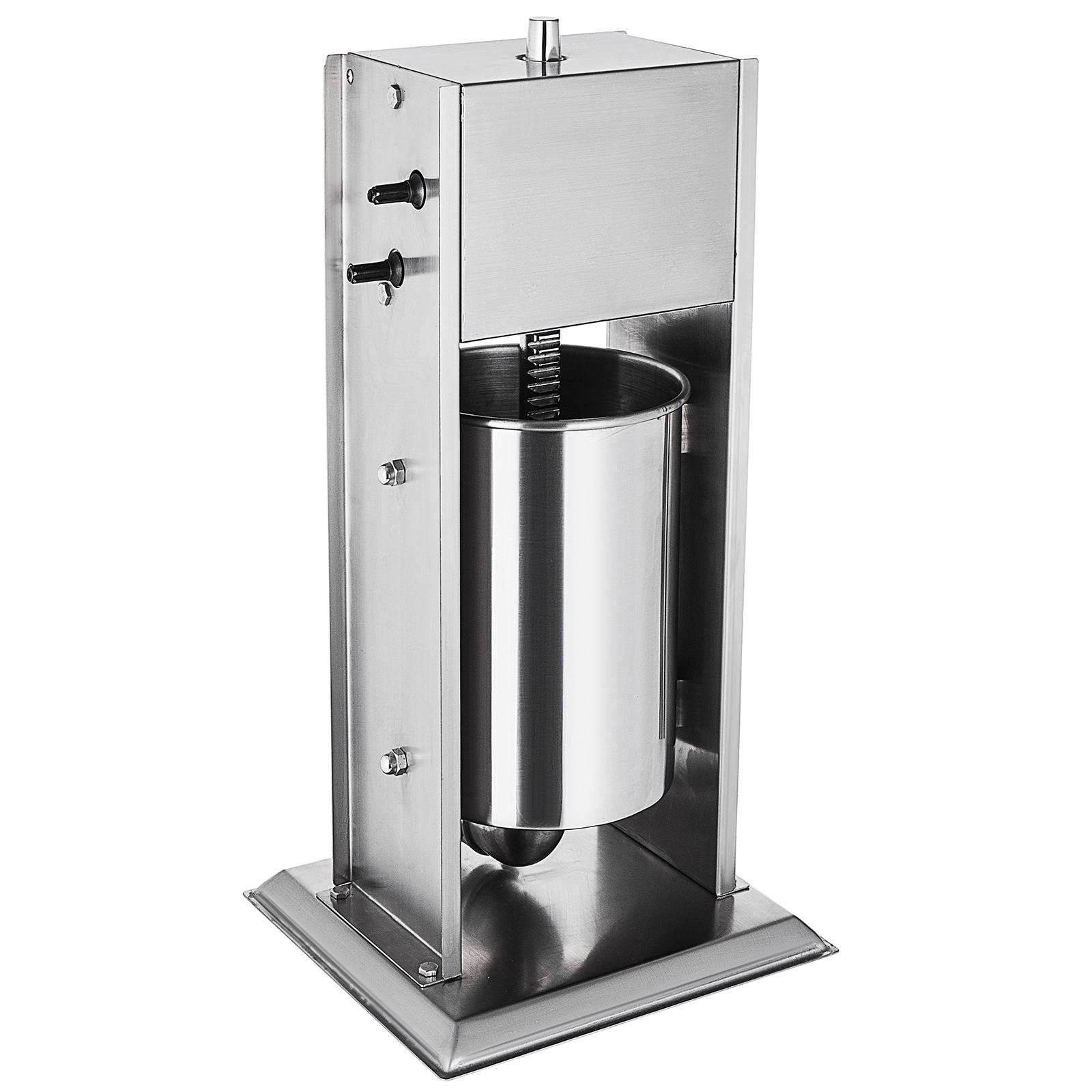 Electric//Manual Sausage Filler Stuffer Meat Press Kitchen Equipment Restaurant
