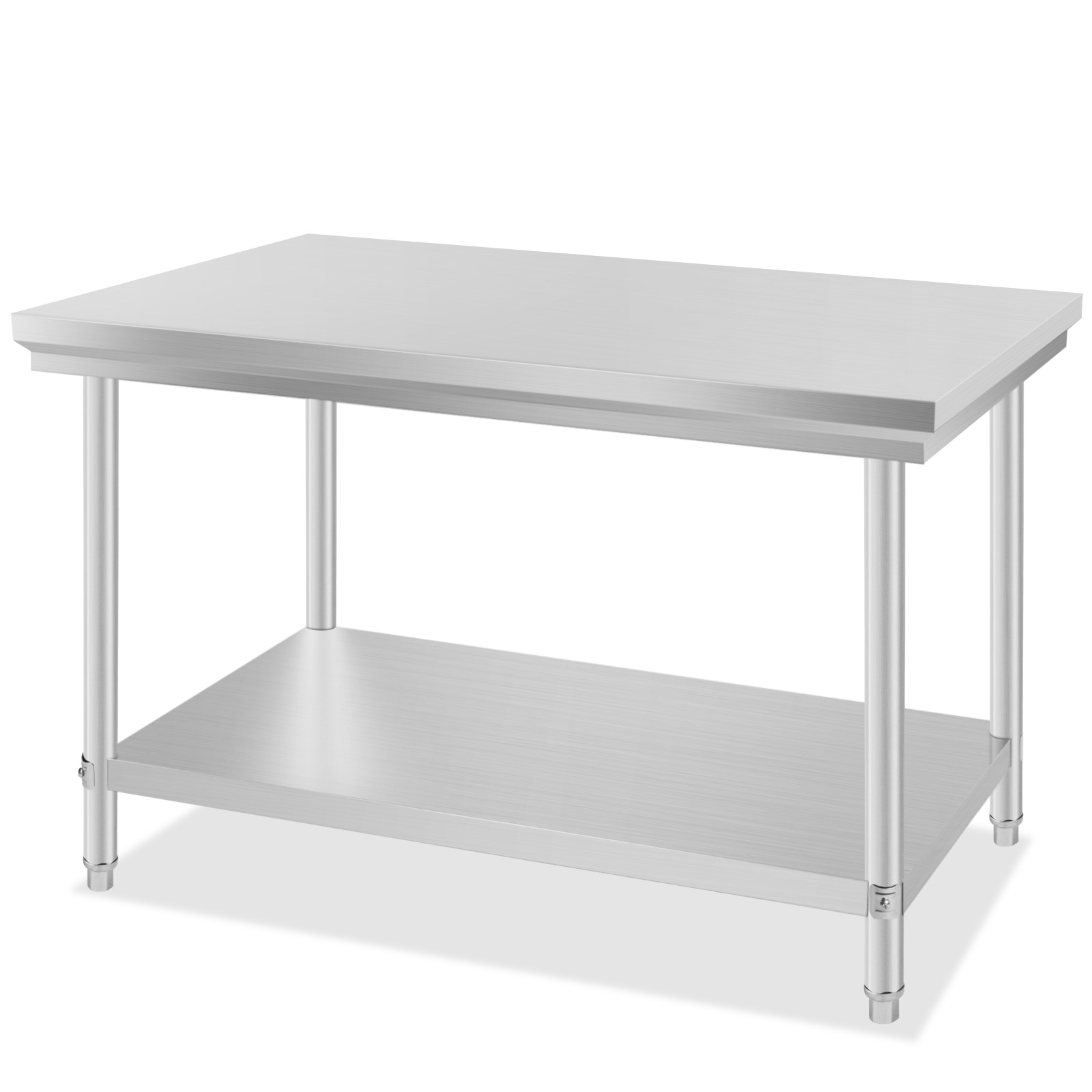 Industrial Kitchen Prep Table: 2X4FT KITCHEN WORK PREP TABLE COMMERCIAL CATERING FOOD