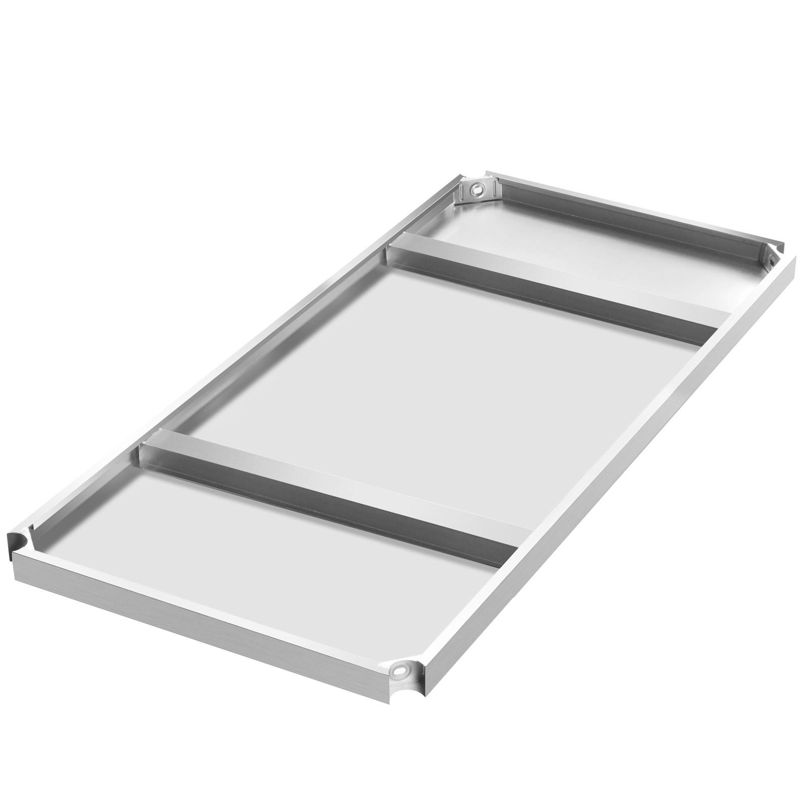stainless steel work prep table w backsplash kitchen restaurant new