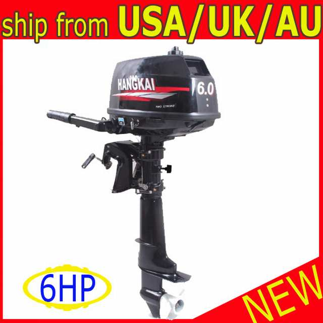 FISHING-BOAT-OUTBOARD-MOTOR-ENGINE-6HP-TWO-STROK-INFLATABLE-MARINE-al