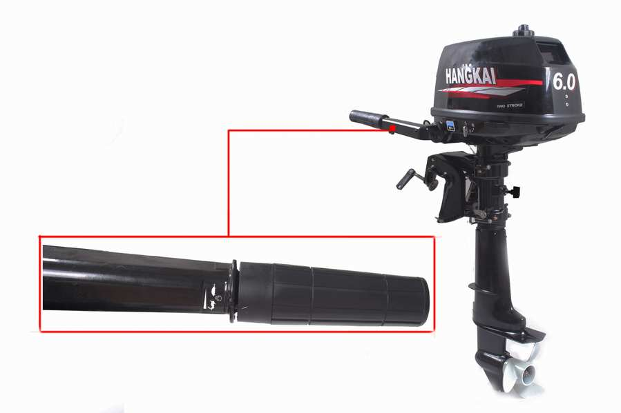 6hp 6 hp outboard motor updated 2 stroke compact portable for Best outboard motor warranty