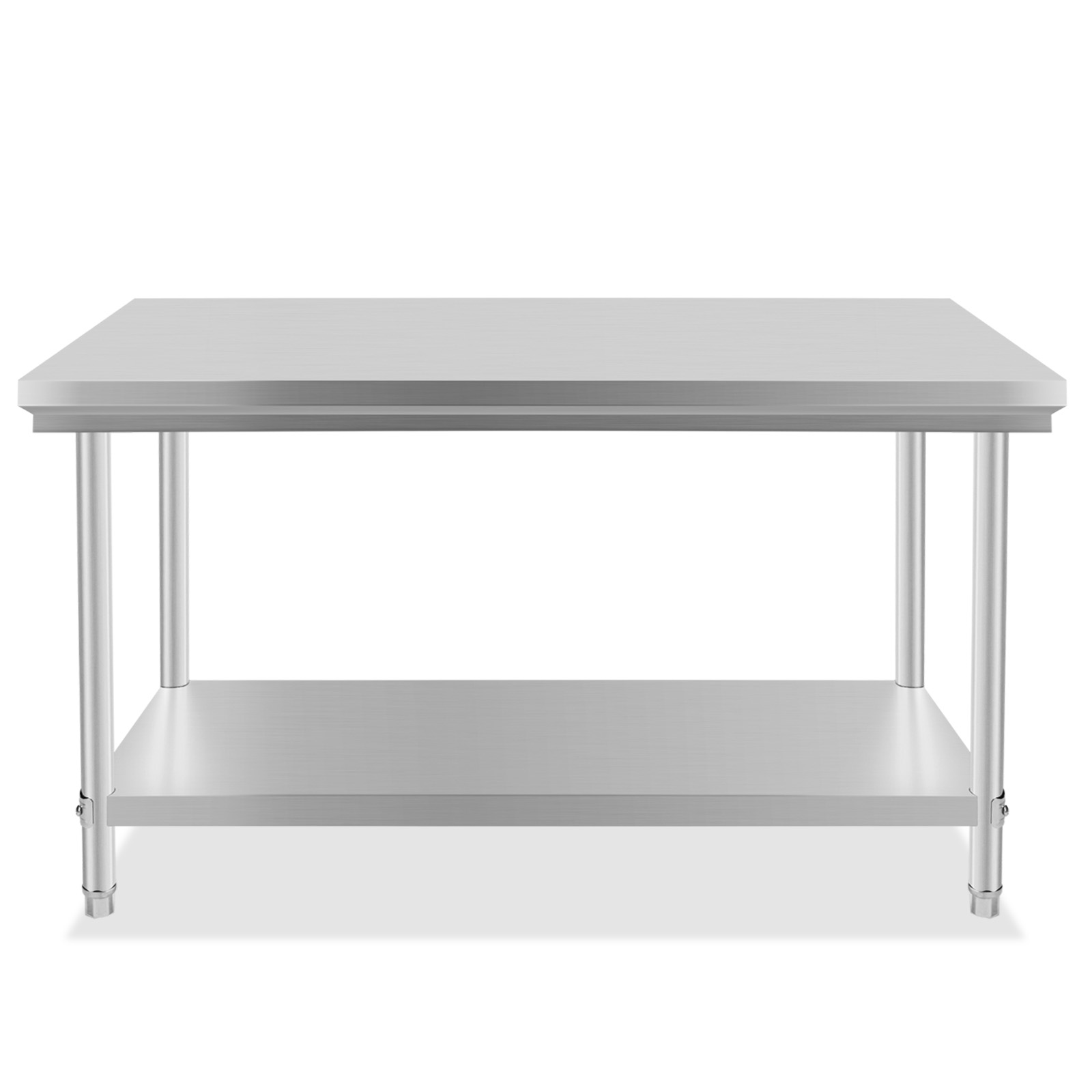 "Industrial Kitchen Prep Table: Stainless Steel Commercial Kitchen Work Prep Table 30"" X"