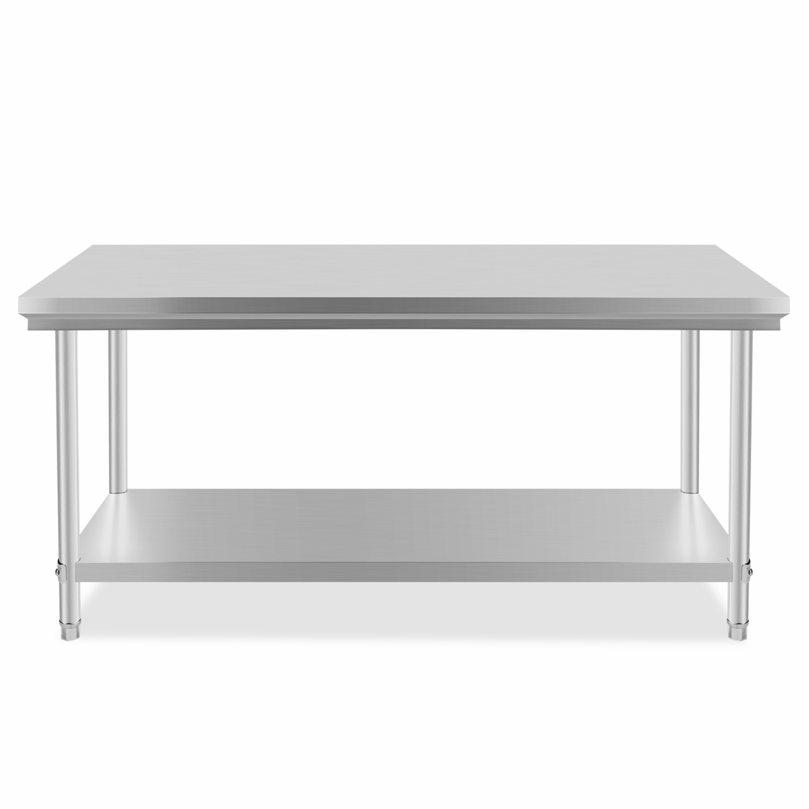 Commercial 201 Stainless Steel Kitchen Work Bench Food Prep Table Top 1829x762mm Ebay
