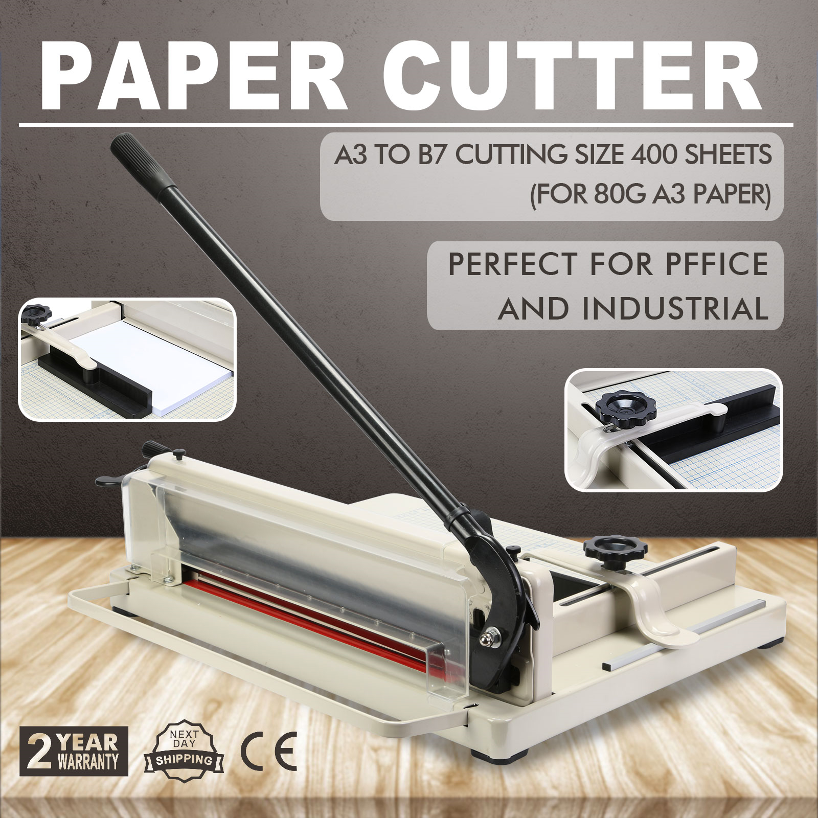 heavy duty paper cutter Paper cutter, grey, 265, good condition, heavy duty cutter, manual clamp: $1,800 (1) in stock: more info on item 100 paper cutter, 92cm, 2006.
