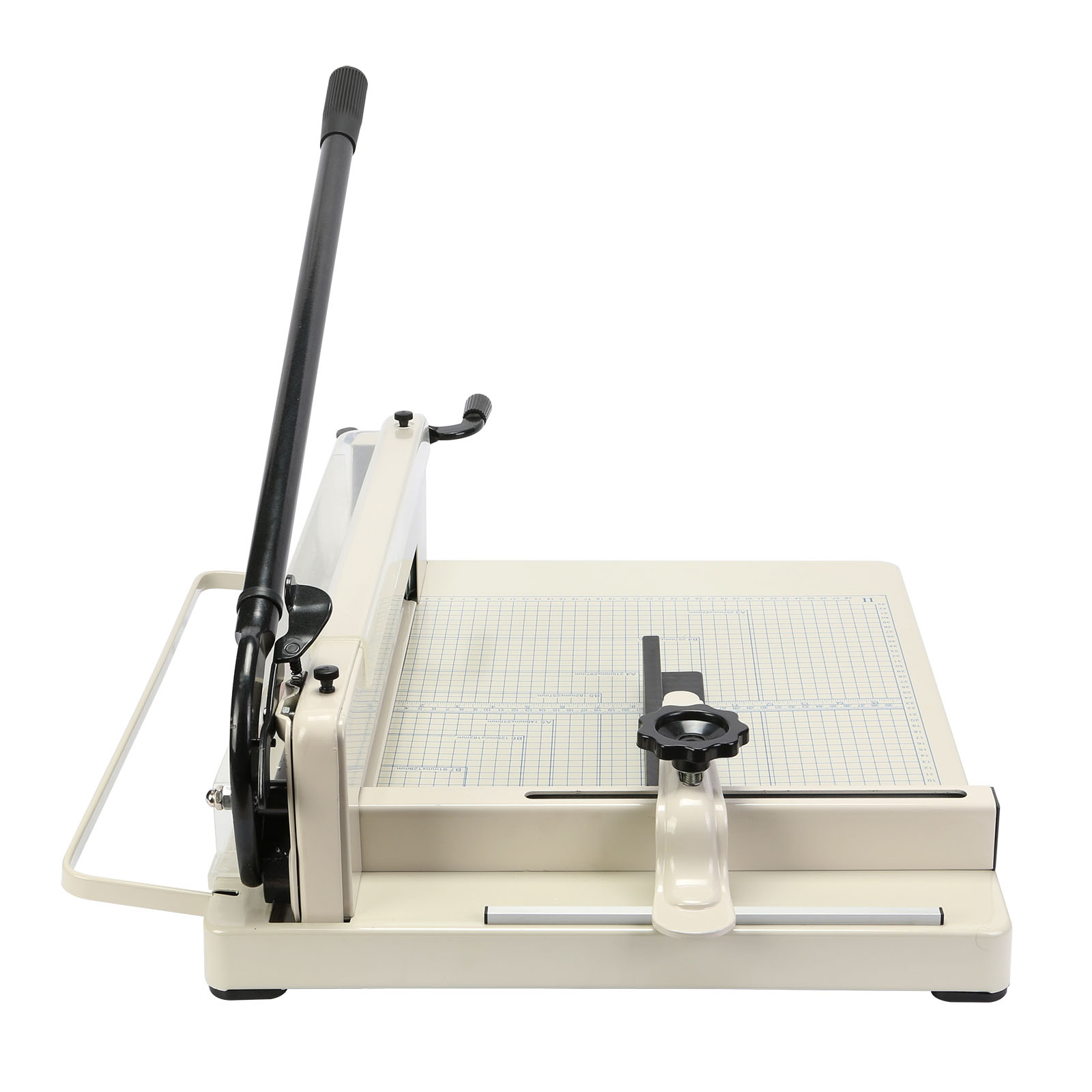 used paper cutter Our current inventory of used paper cutters includes manual, electric, and hydraulic models.