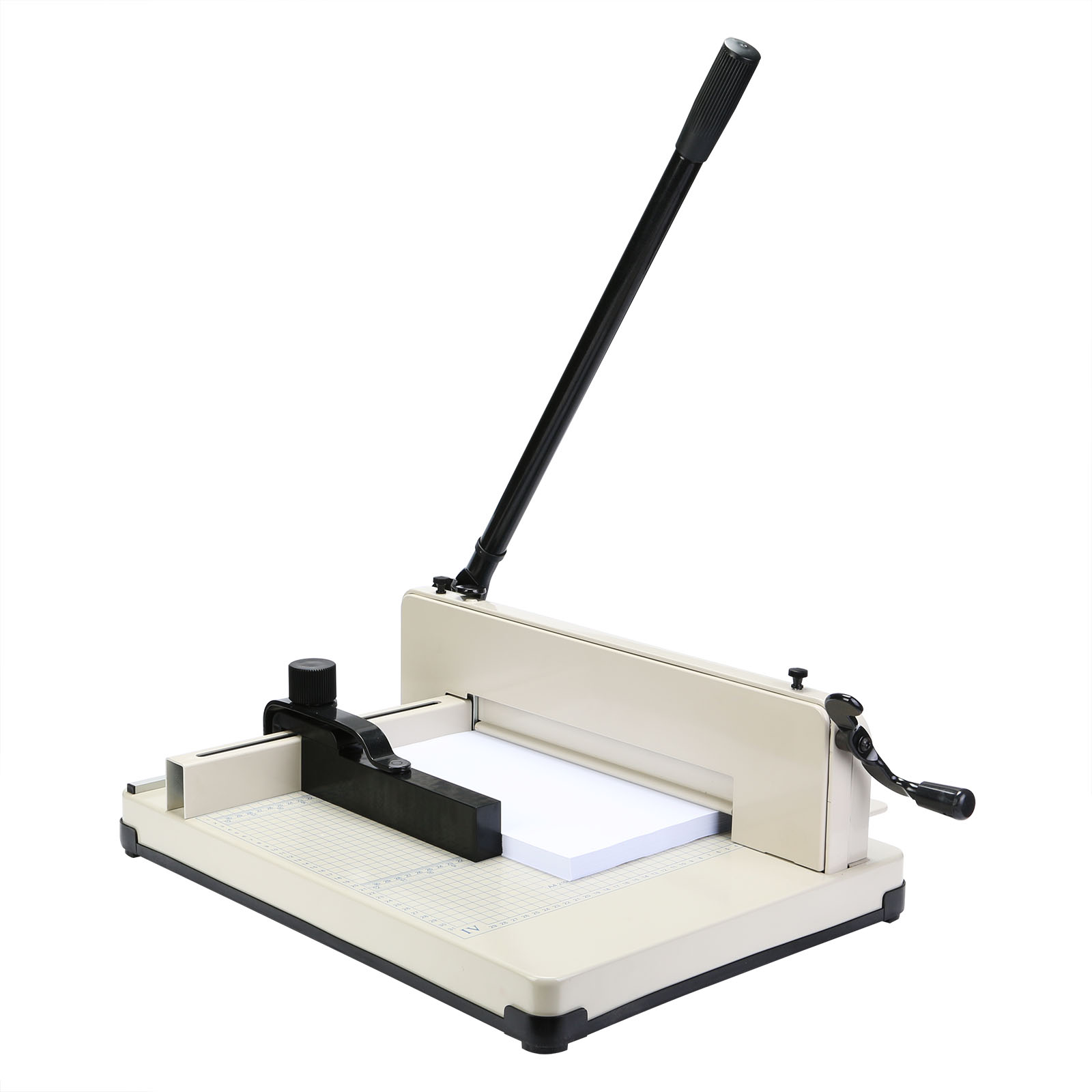 Heavy Duty Paper Cutter Guillotine - Up to A3 Size Paper