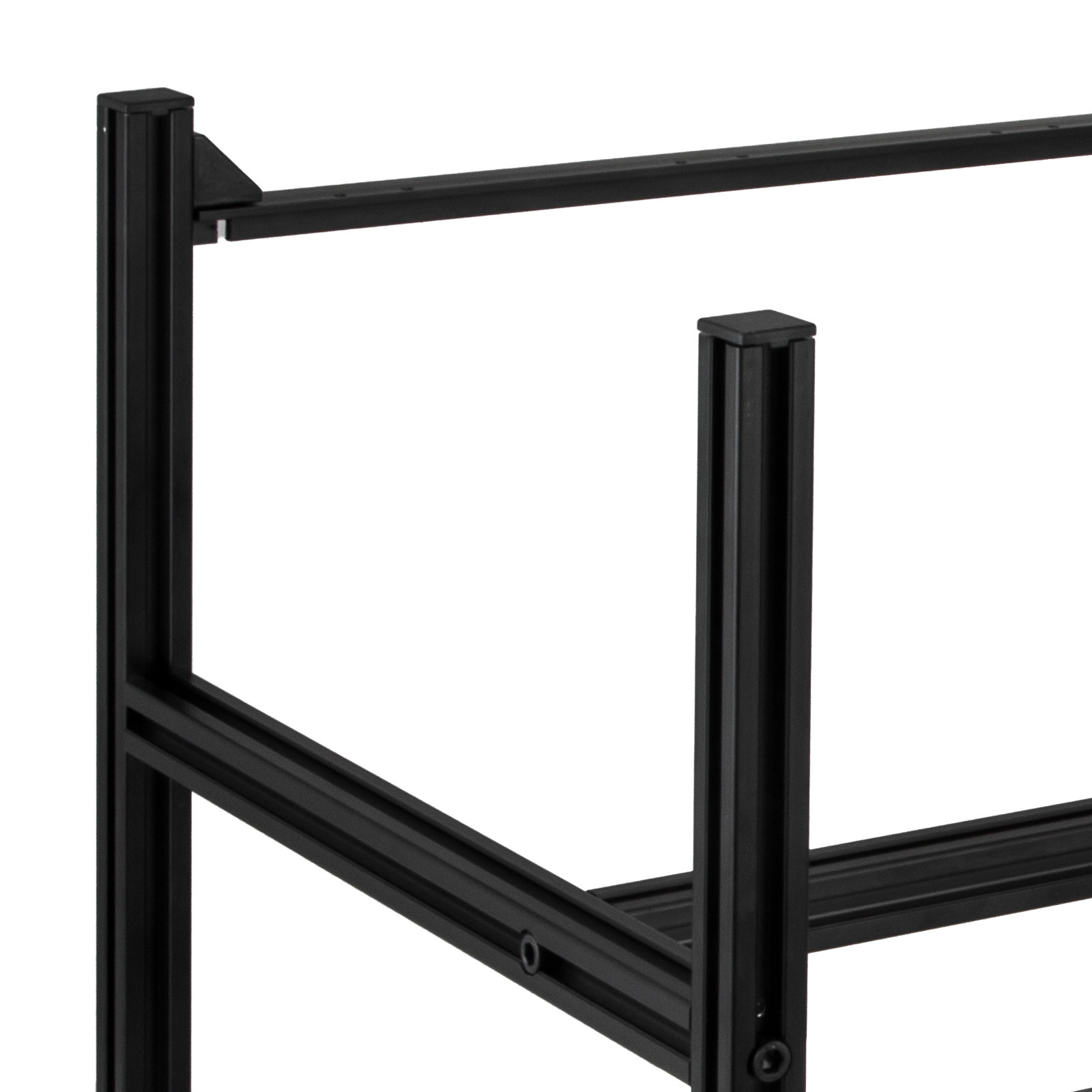 8//6 GPU Mining Rig Aluminum Stackable Case Open Air Frame ETH//ZEC//Bitcoin