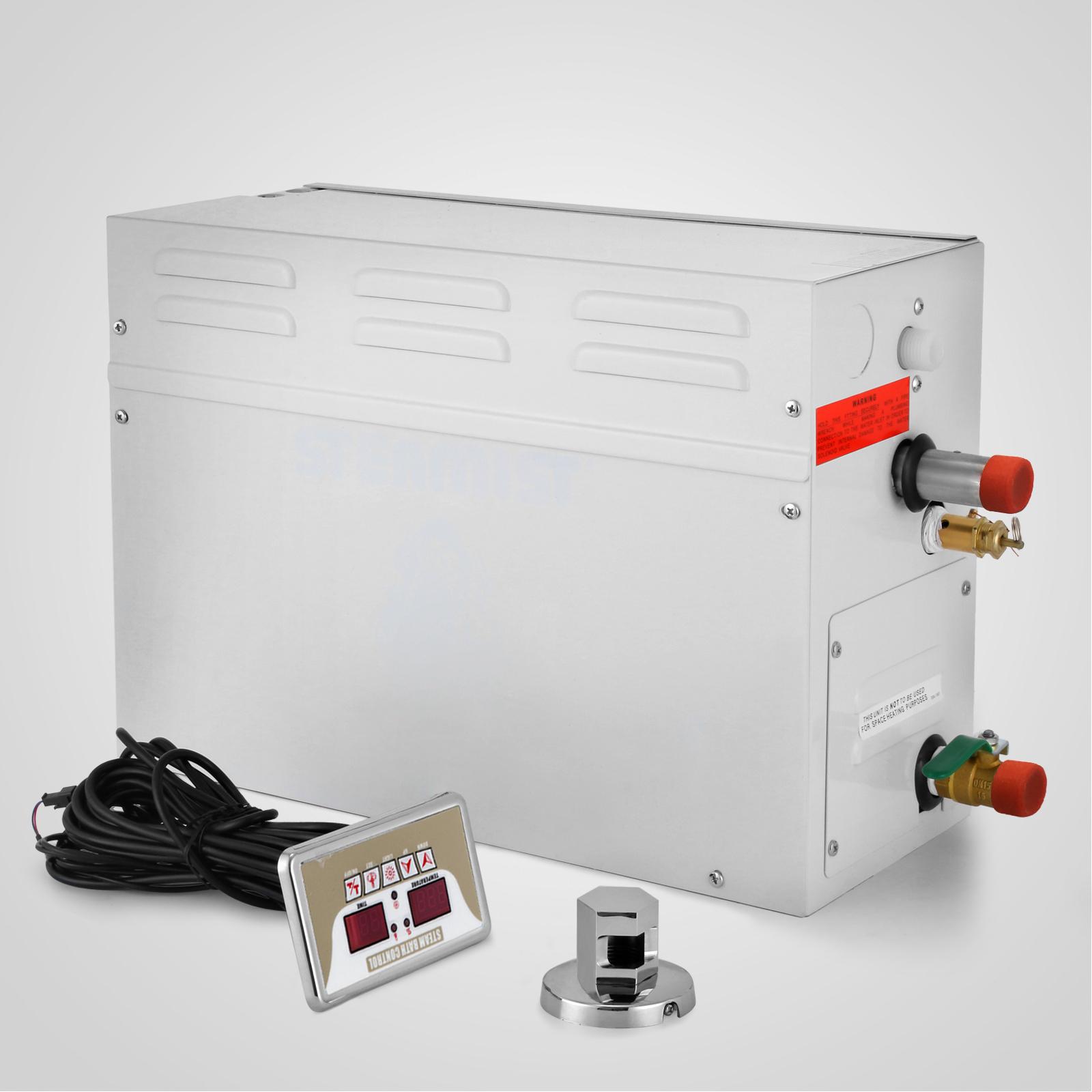 9KW Steam Generator Shower ST-135M Auto Controller Sauna Bath LOCAL ...