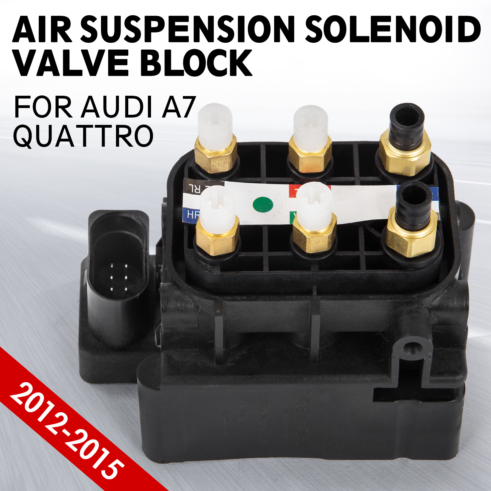er Air Suspension Valve Control Unit For Audi A7 Quattro 12-15 4H0616013A Hi