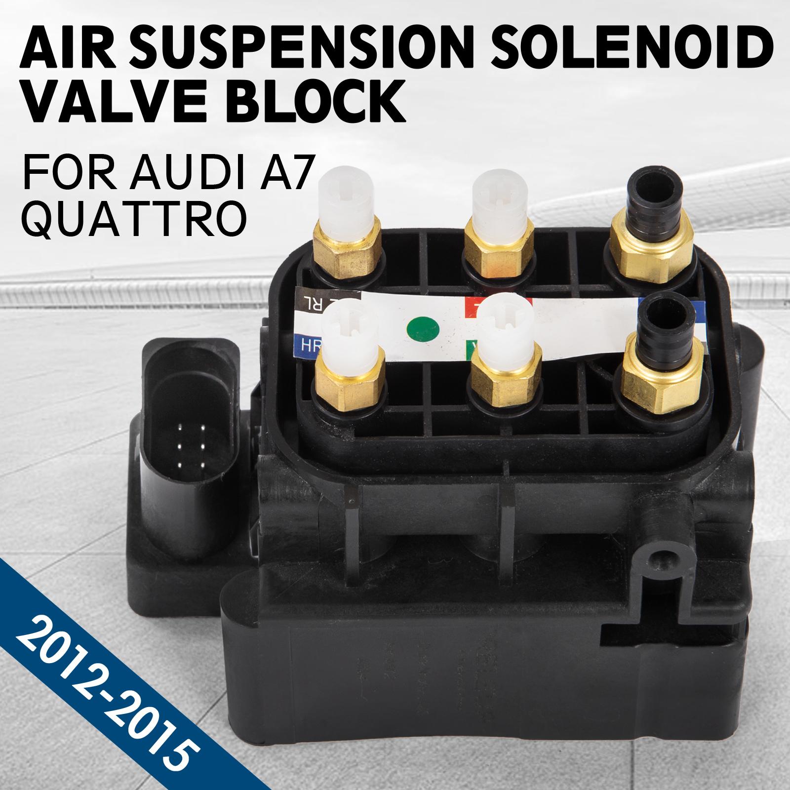 de Air Suspension Valve Control Unit For Audi A7 Quattro 12-15 4H0616013A al