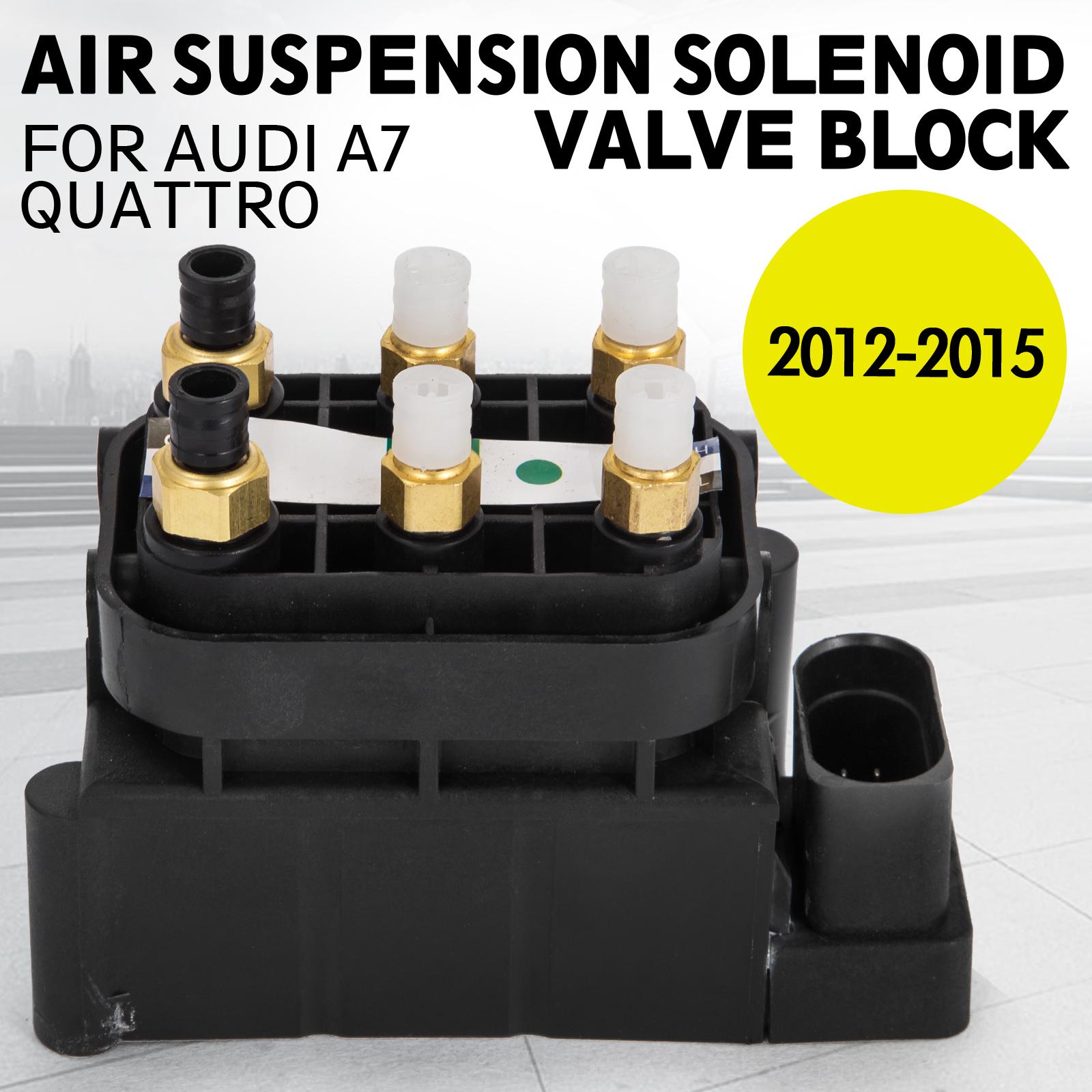 et Air Ride Suspension Solenoid Valve Block For Audi A7 Quattro 4H0616013A ea