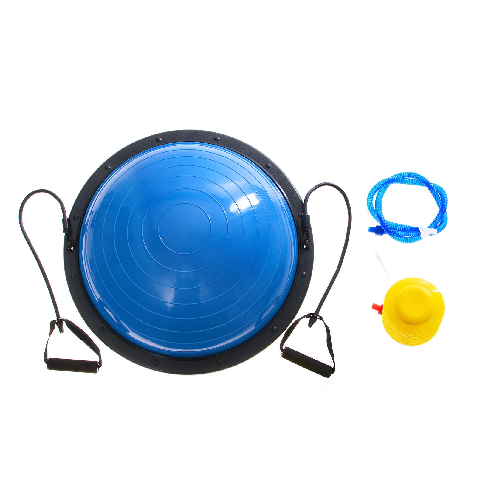 """Bosu Ball Uk Stockists: 23"""" Bosu Balance Yoga Trainer Ball Kit W/ Pump Strength"""