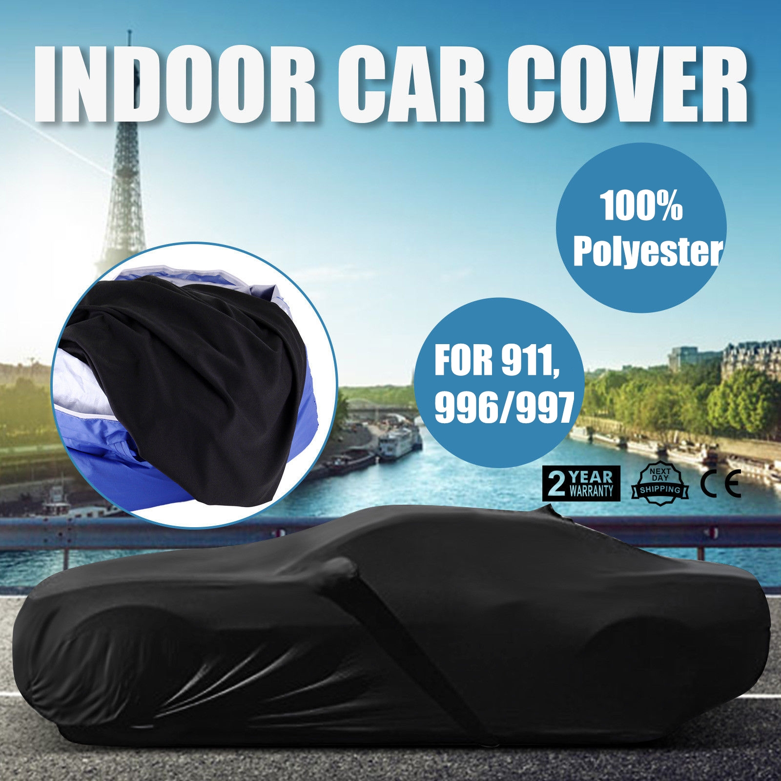 soft indoor car cover for porsche 911 996 997 coupe. Black Bedroom Furniture Sets. Home Design Ideas