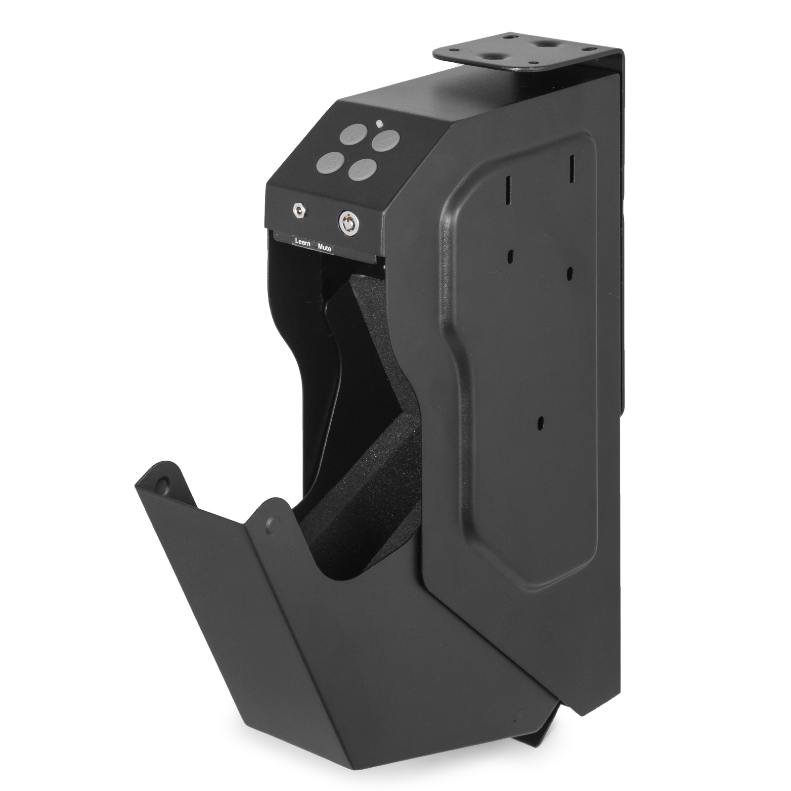 Gun-Safe-Pistol-Handgun-Safe-Single-Quick-Access-Electronic-Security-Keypad-Lock thumbnail 3