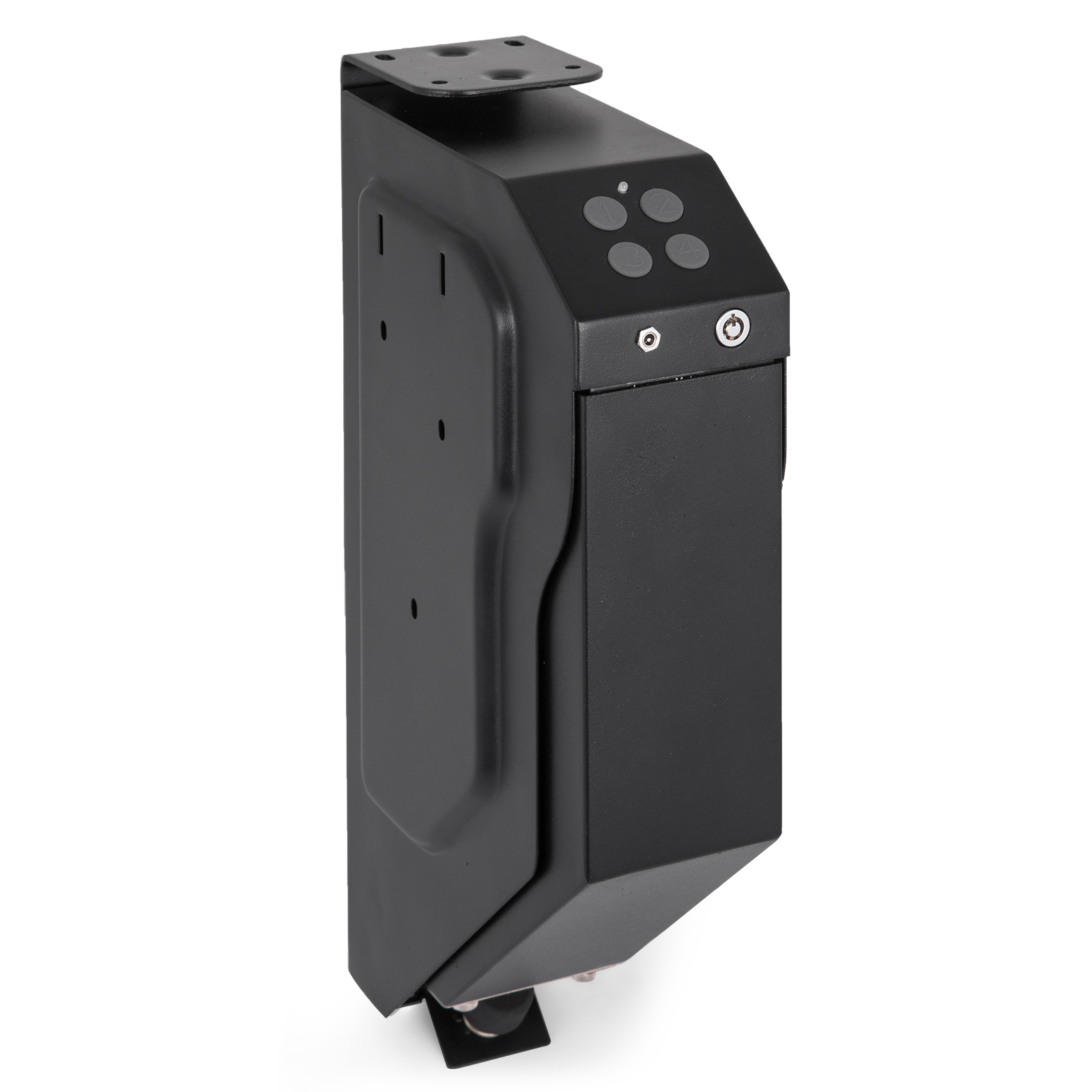 Gun-Safe-Pistol-Handgun-Safe-Single-Quick-Access-Electronic-Security-Keypad-Lock thumbnail 6