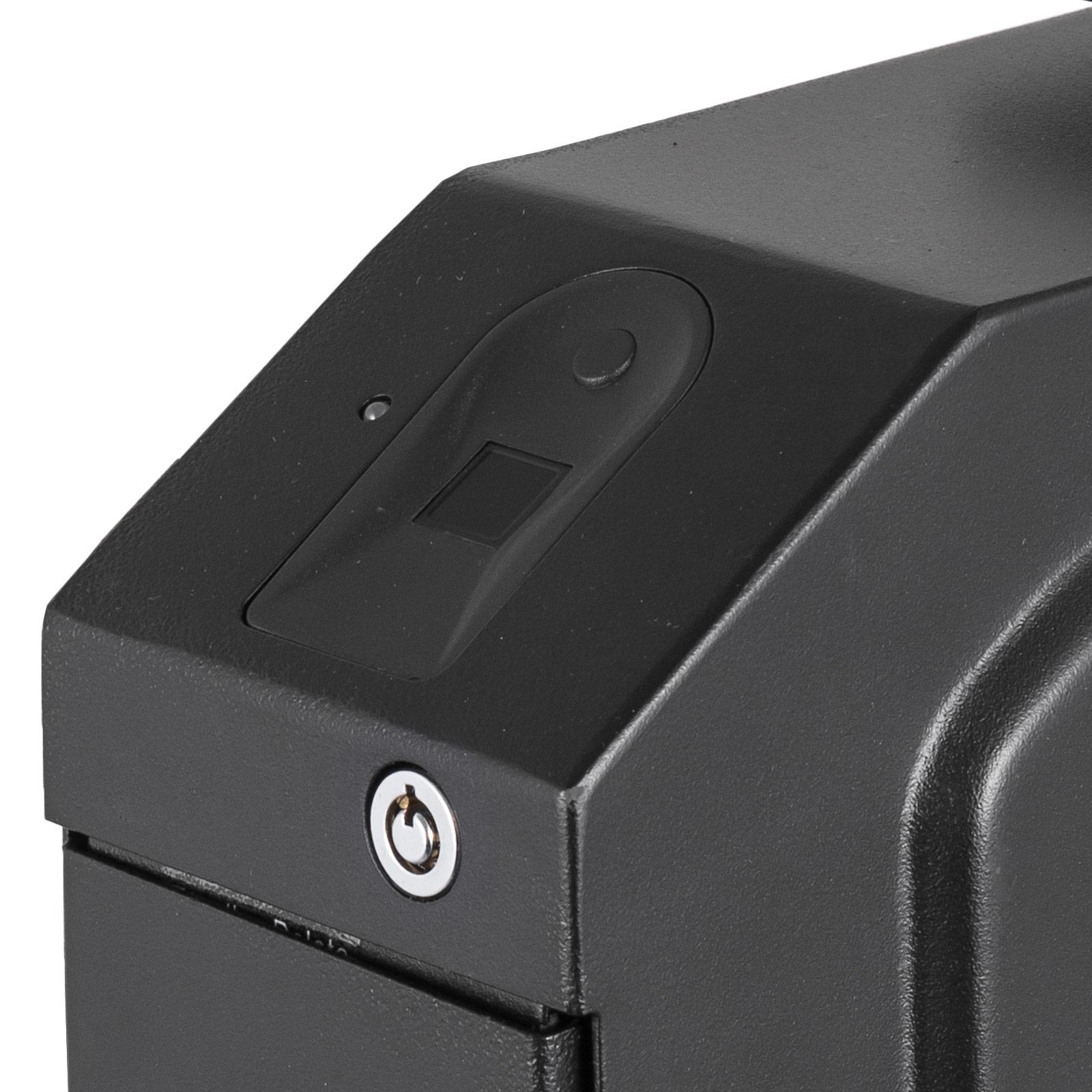 Pistol-Safe-Hand-Gun-Safe-Box-Biometric-Fingerprint-Storage-Home-Office-Security thumbnail 11