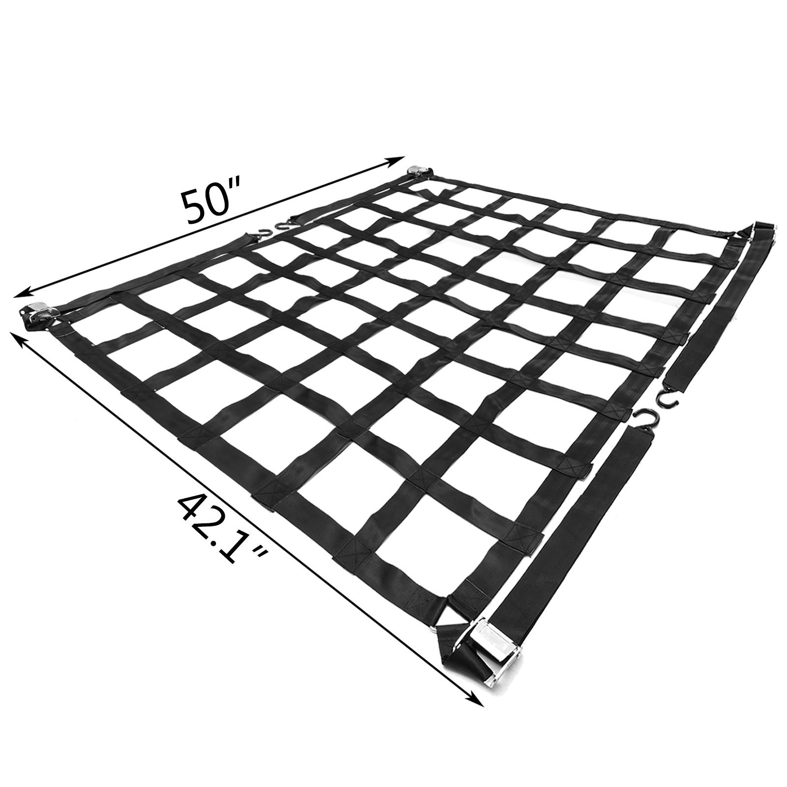 Truck Bed Cargo Net Safety Web 500kg//1100lb Pickup Trucks Truck Cargo Net NEWEST
