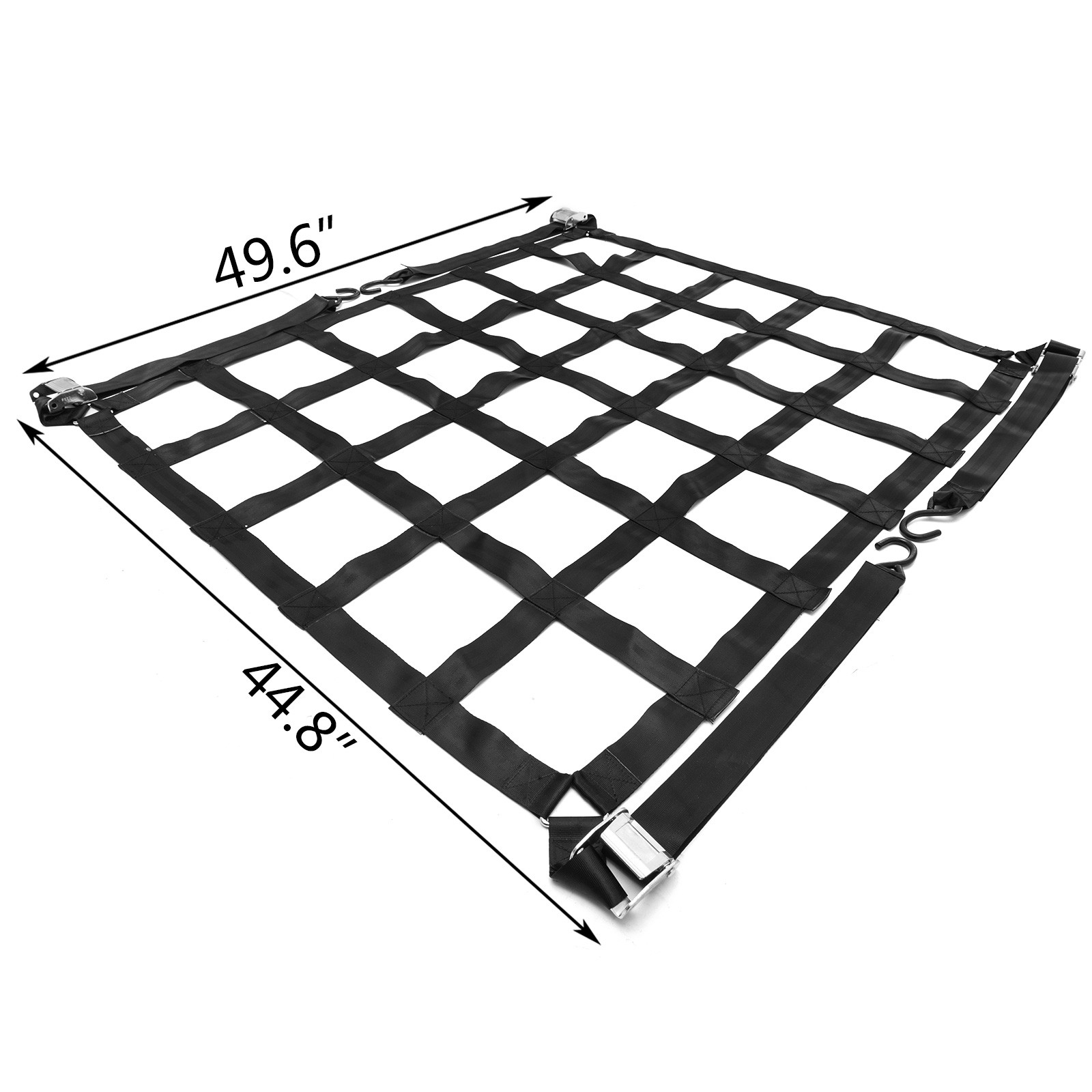 Truck Bed Cargo Net Safety Web 500kg//1100lb 2T//4400lb High Strength NEWEST