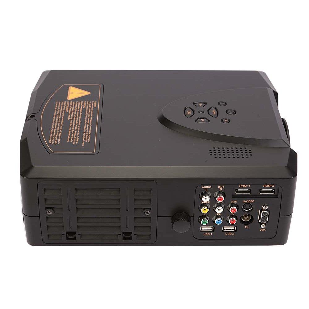 Lcd Projector Pc Av Tv Vga Usb Hdmi Hd 1080p Home Theater: HOME THEATER PROJECTOR CINEMA LCD LED 1080P USB MOVIE AV